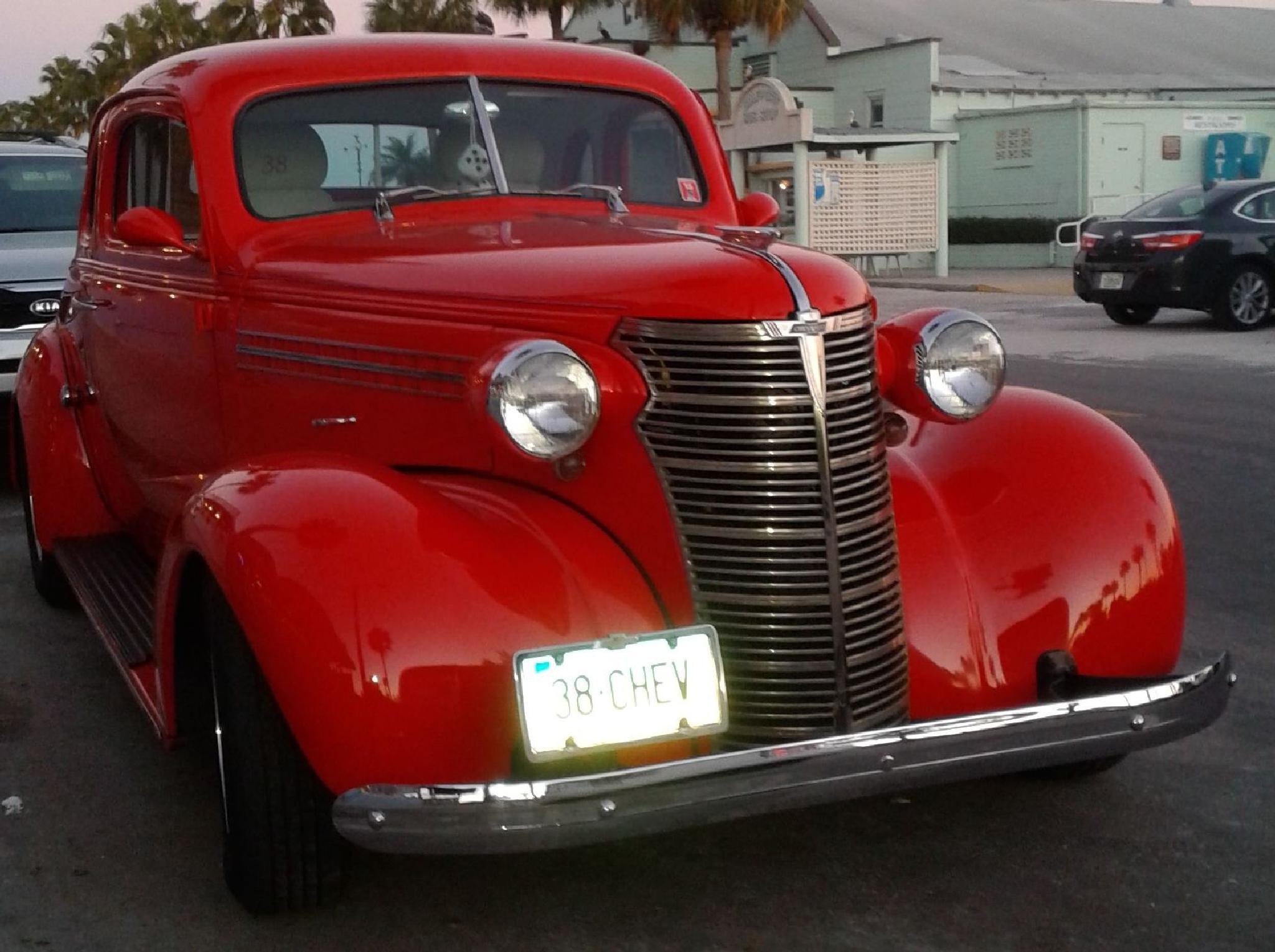 38 Chevy In RED  by Journeyman