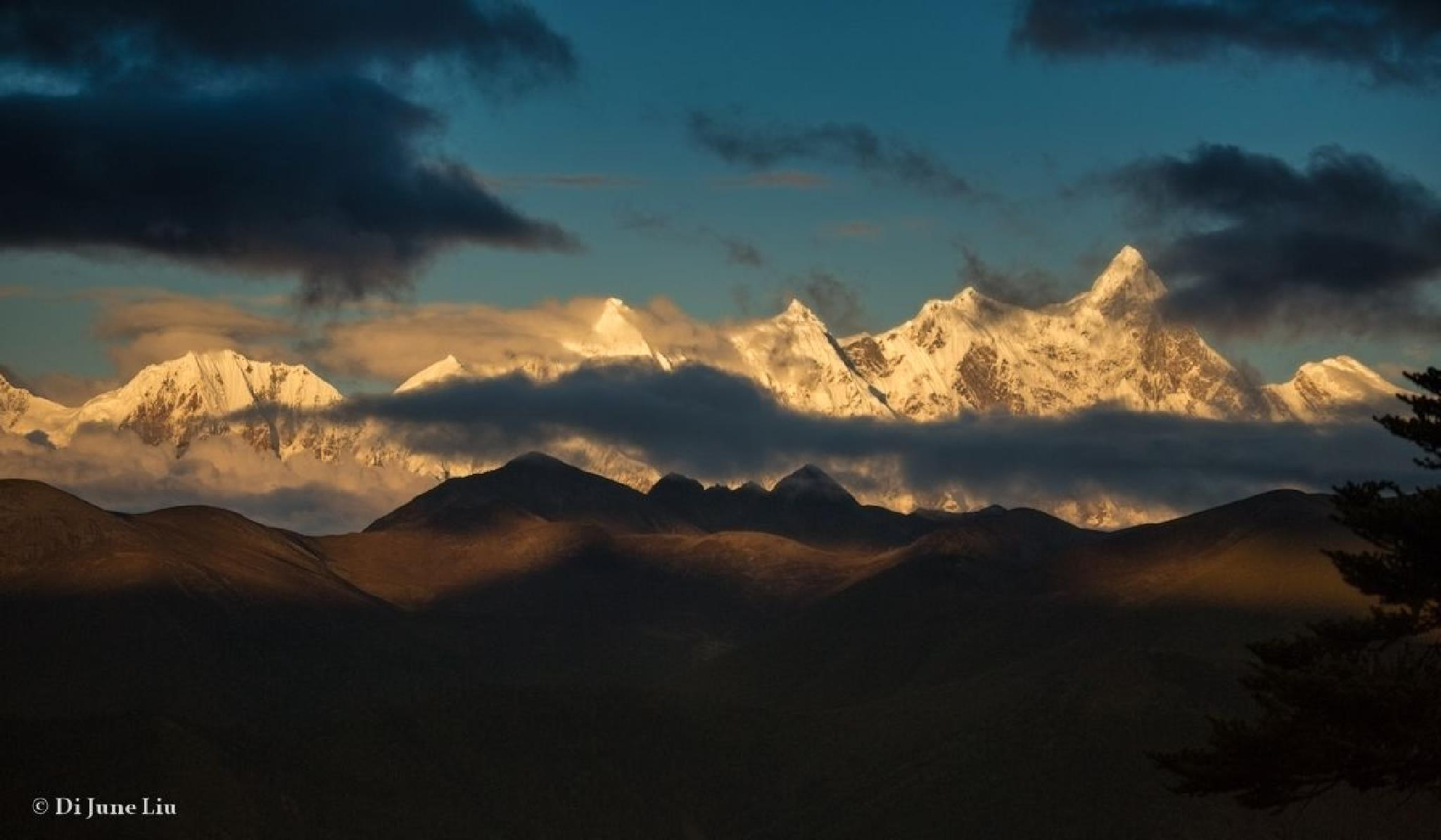 Namjagbarwa Peak 7782m, 15e plus haute du monde by dijune