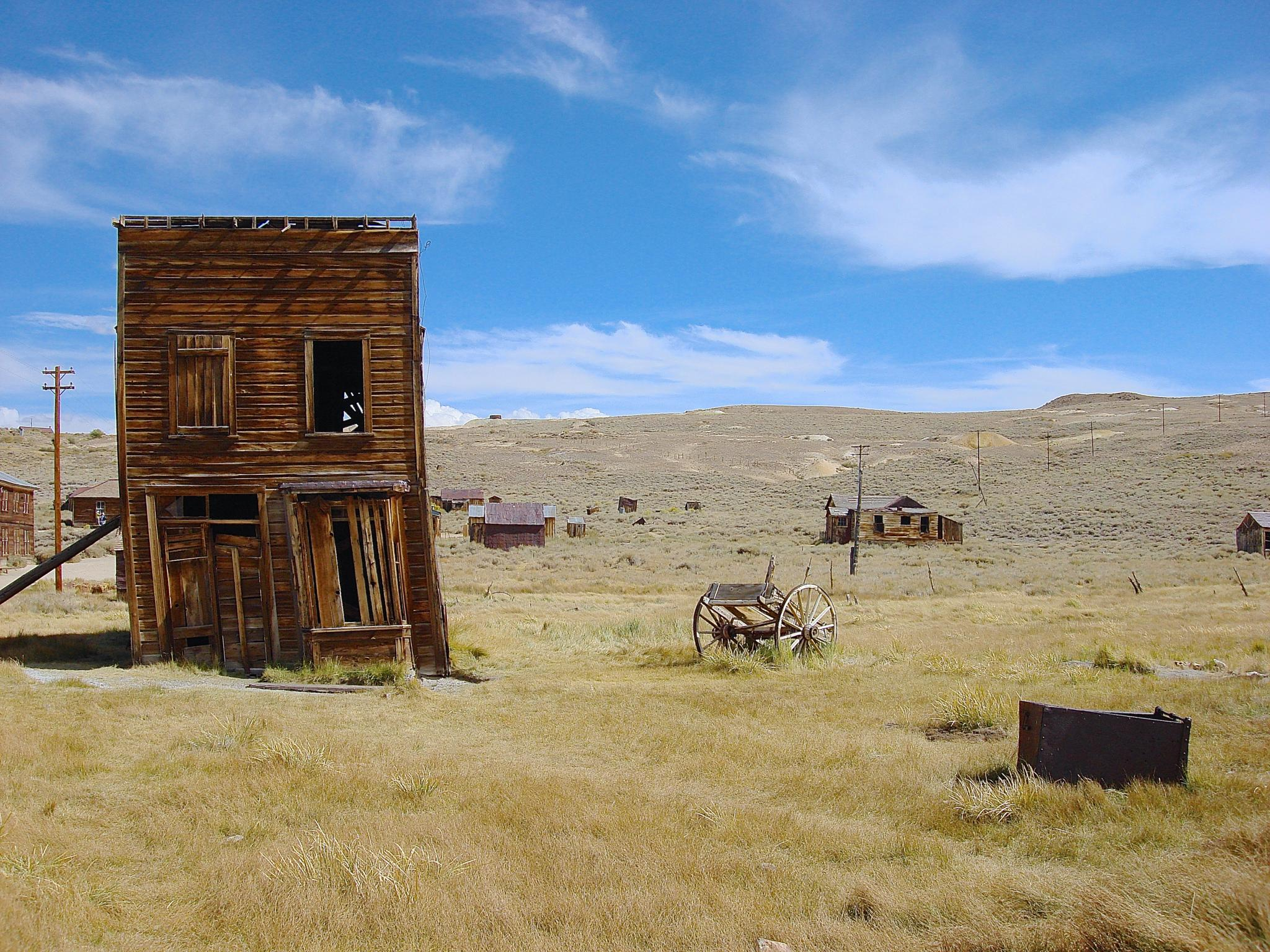 Bodie, the old ghost mining town #1. Plumb? by pam.simonsson