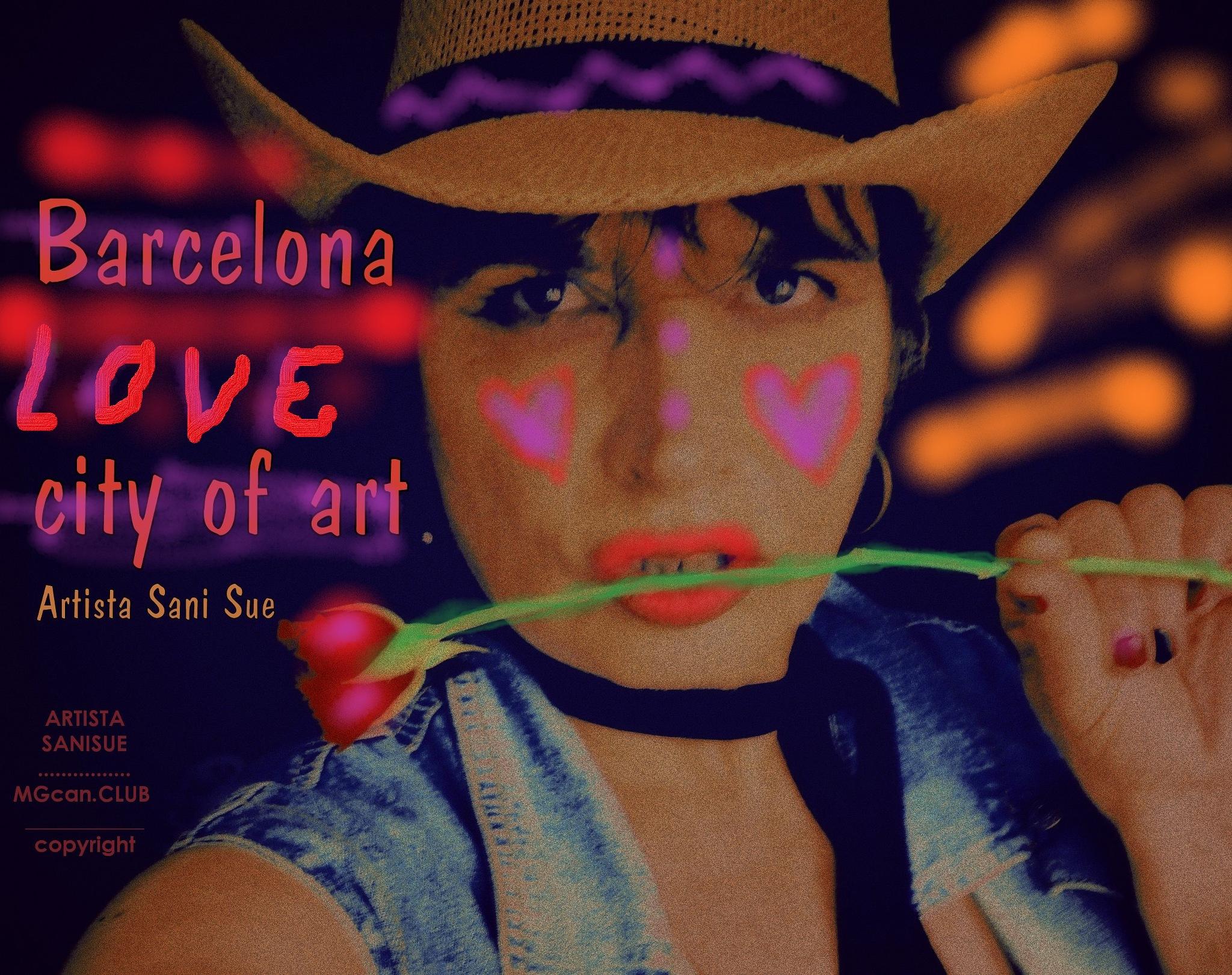 BARCELONA by ARTISTA SANI SUE