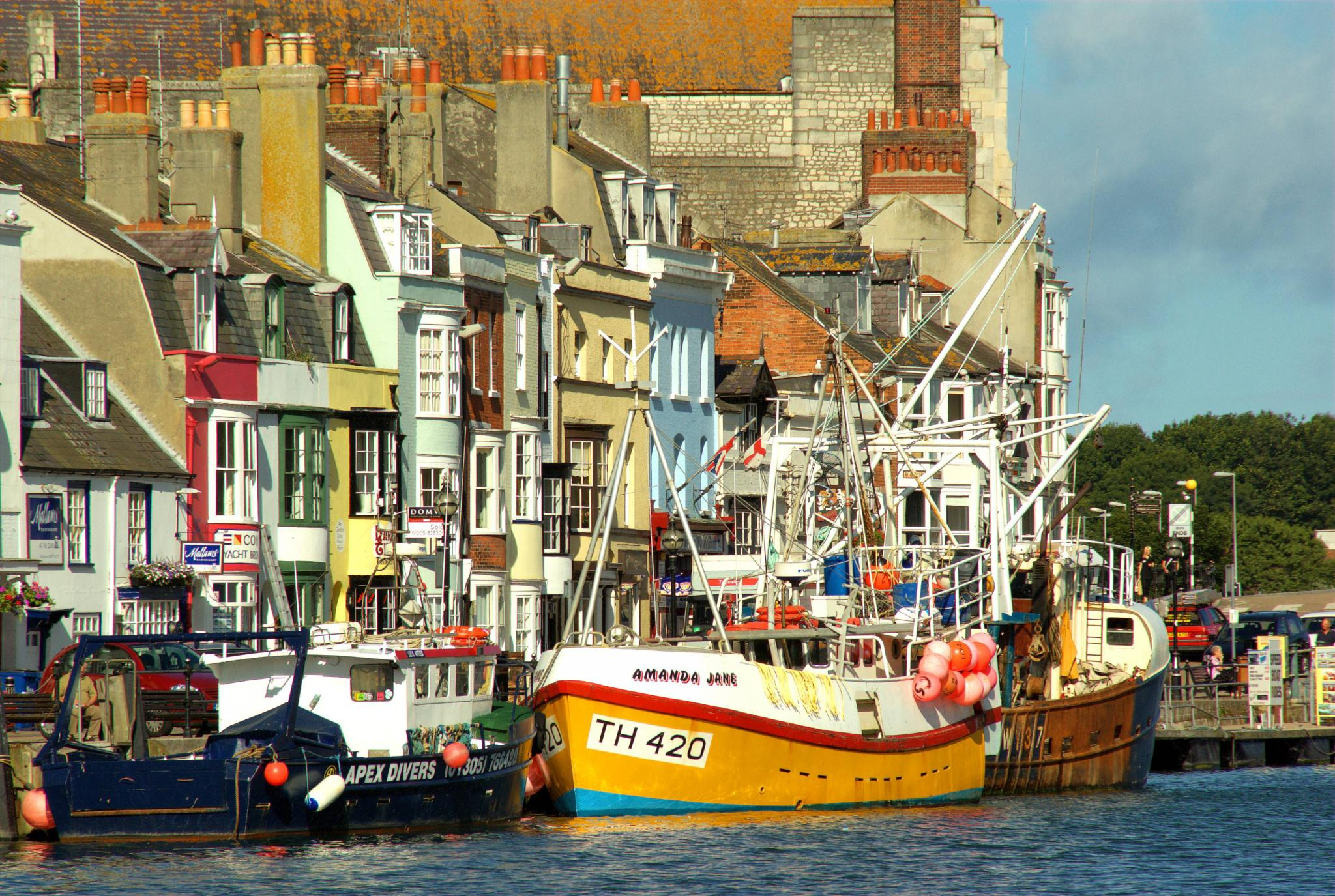 weymouth harbour by paulrobin.andrews