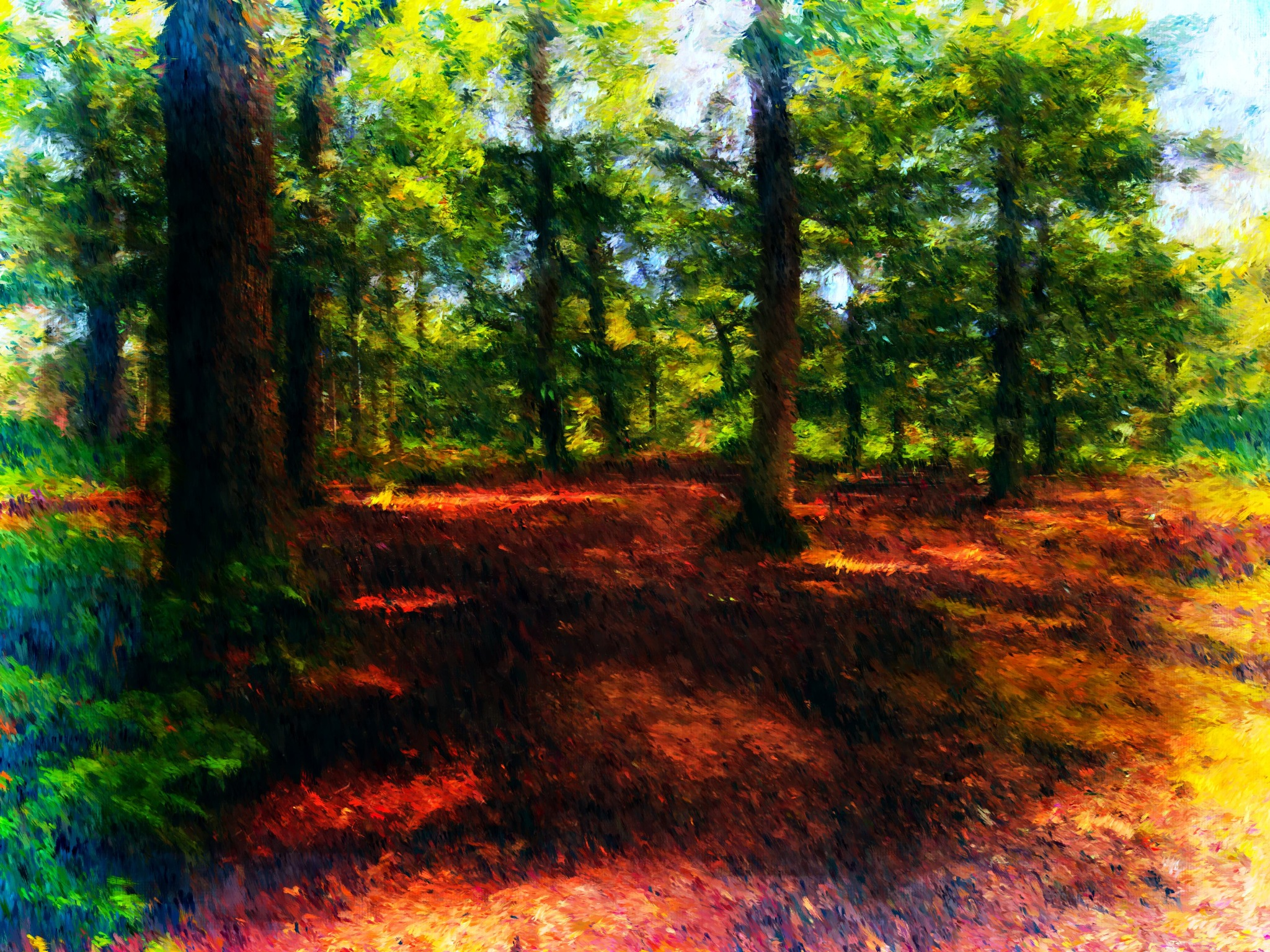 woodland by paulrobin.andrews