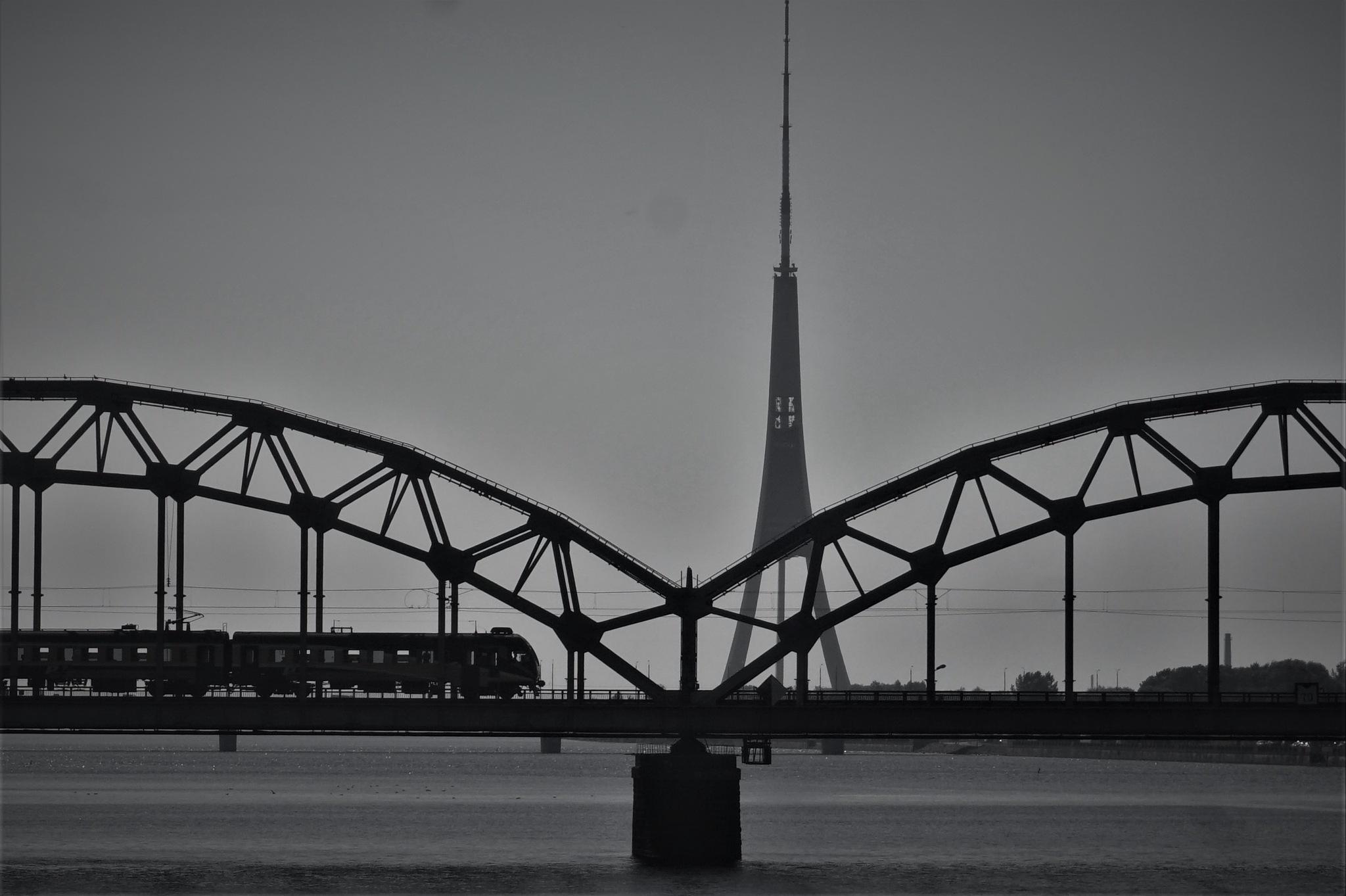 Bridge in Riga by monique.doldersum
