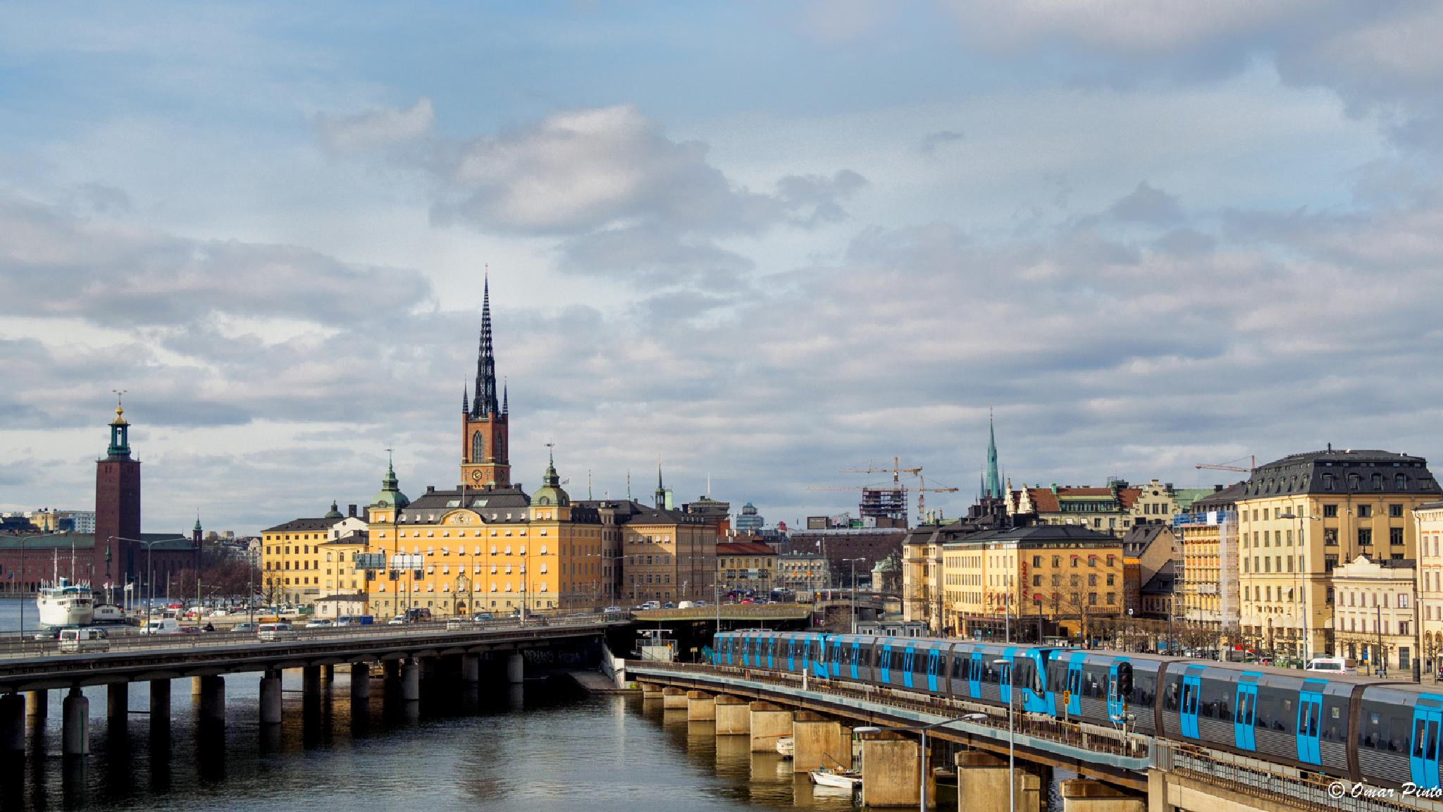 Stockholm today by Omar Pinto Diaz