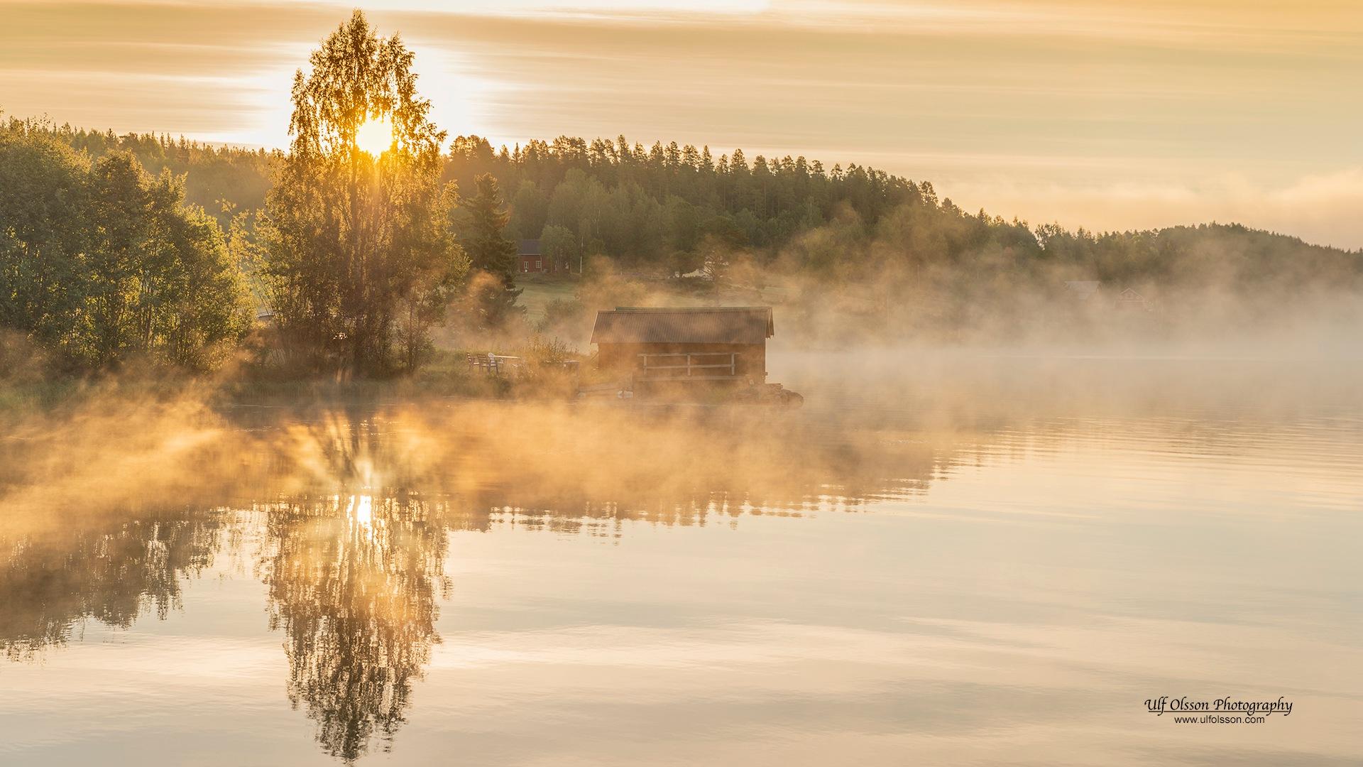 Morning fog by uffeo56