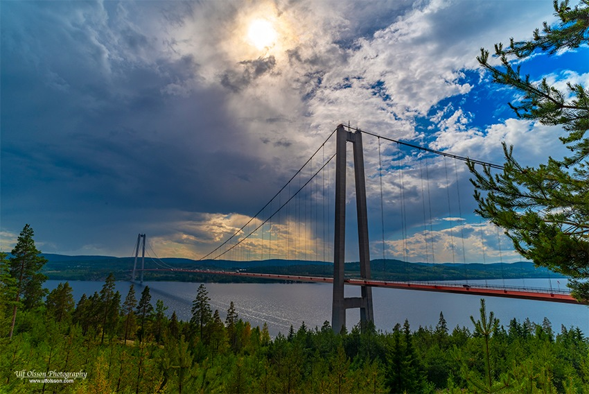 High Coast Bridge by uffeo56