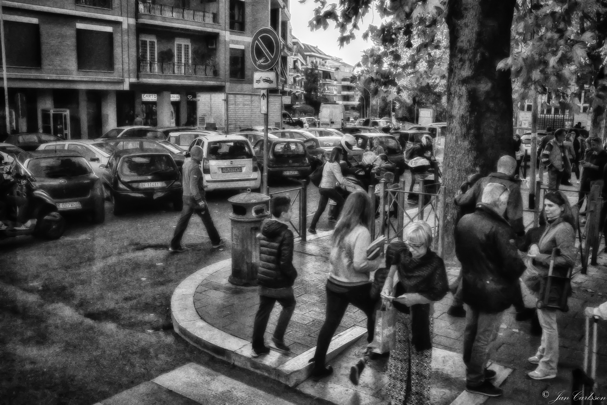 Early Morning in Rome by carljan w carlsson