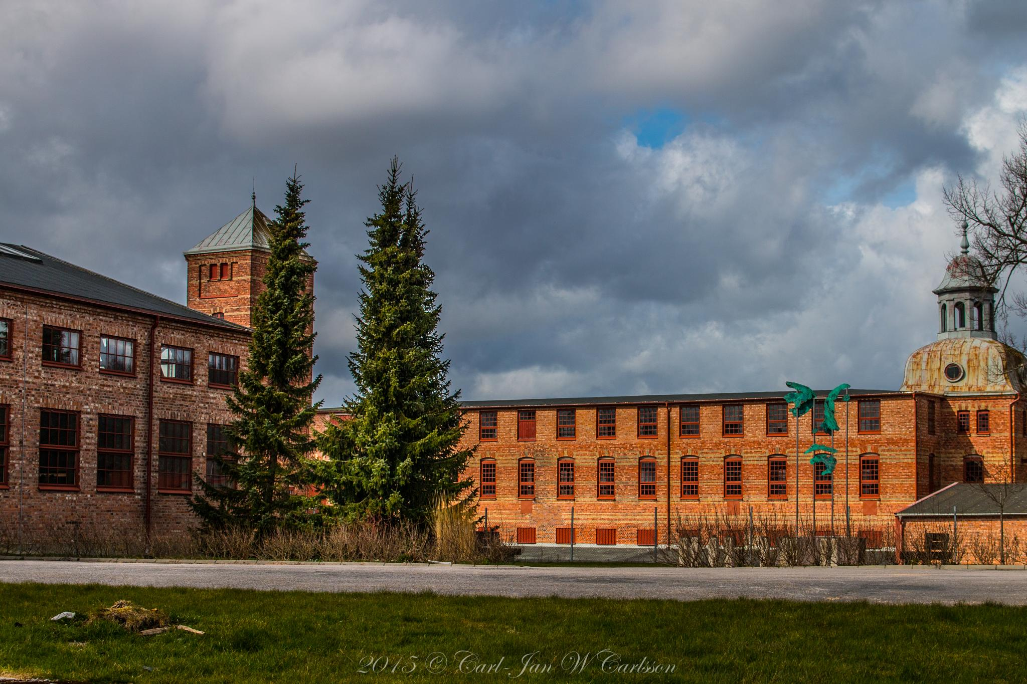 Old Factory Building by carljan w carlsson
