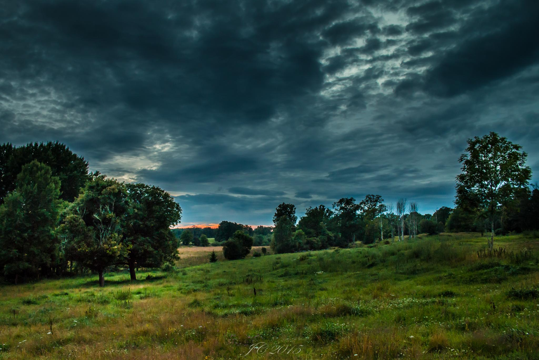 Swedish Summer Night - The Light Fantastic by carljan w carlsson