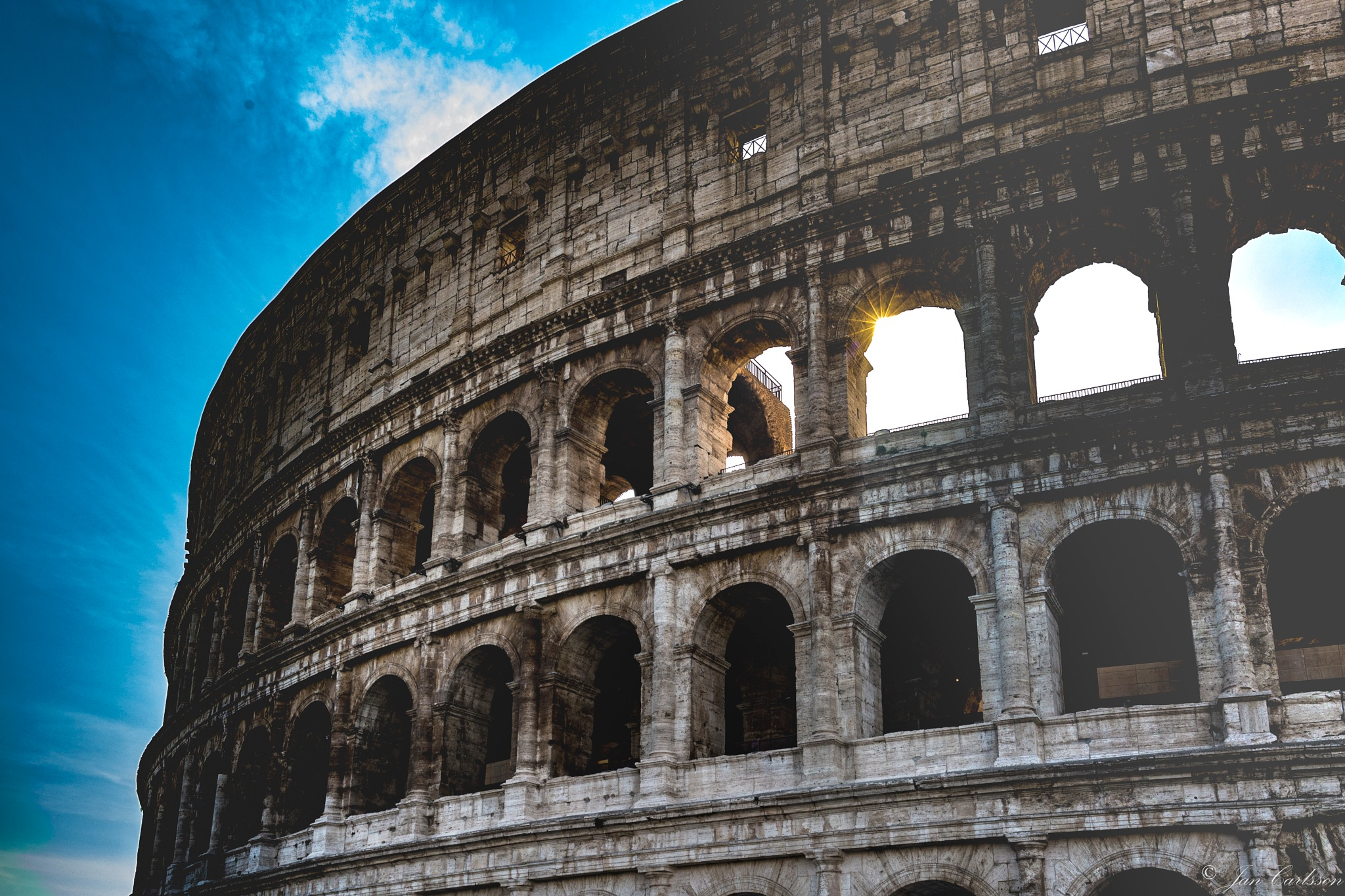 Colosseum by carljan w carlsson