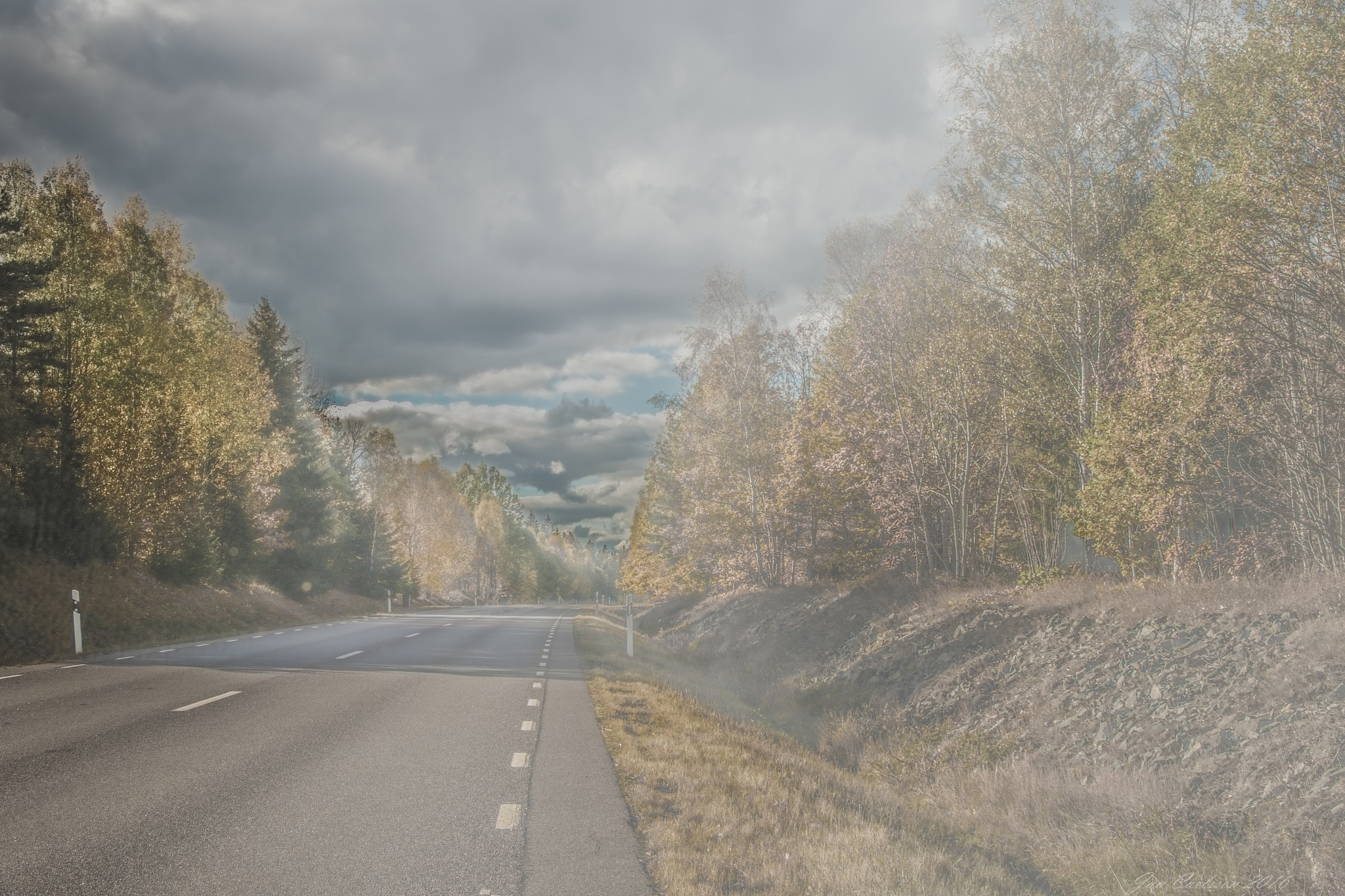 Unknown Road by carljan w carlsson