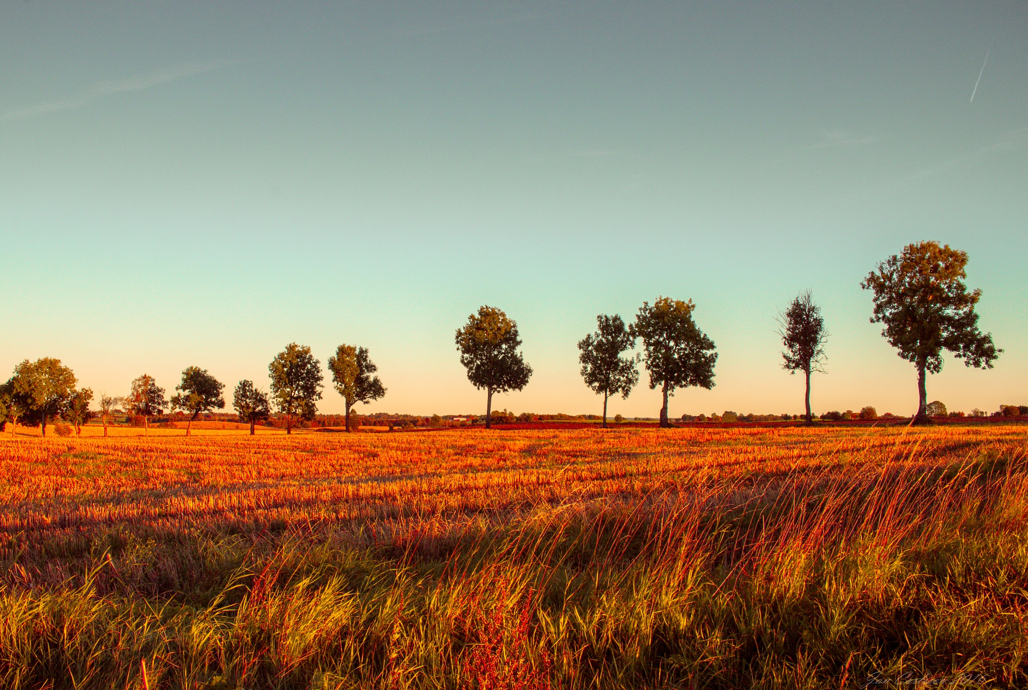 October Sunset 2 by carljan w carlsson