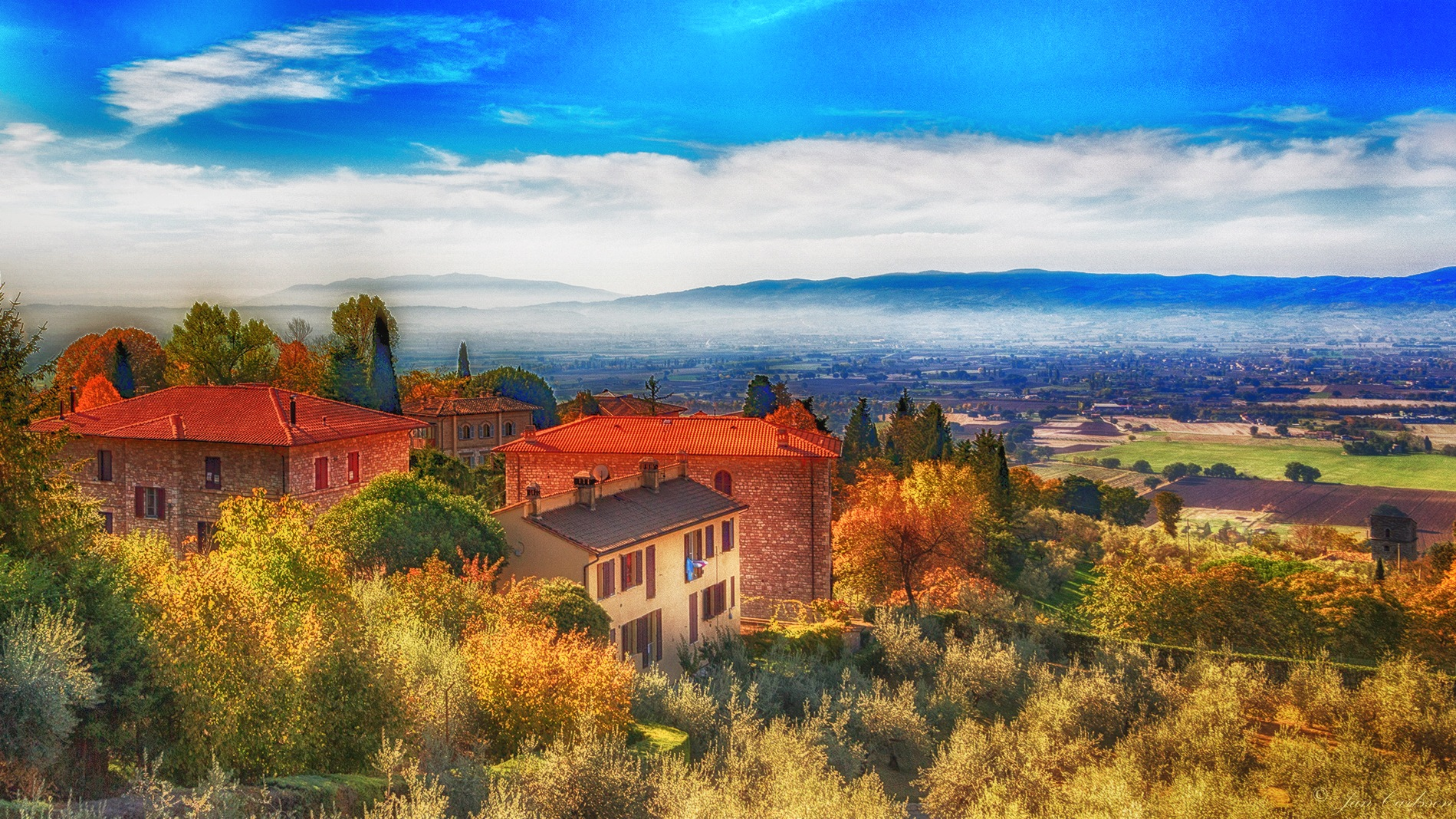 Assisi HDR by carljan w carlsson