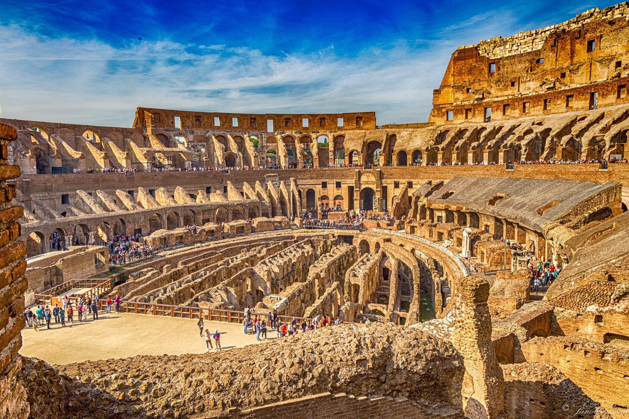 Colosseum by carljan w carlsson