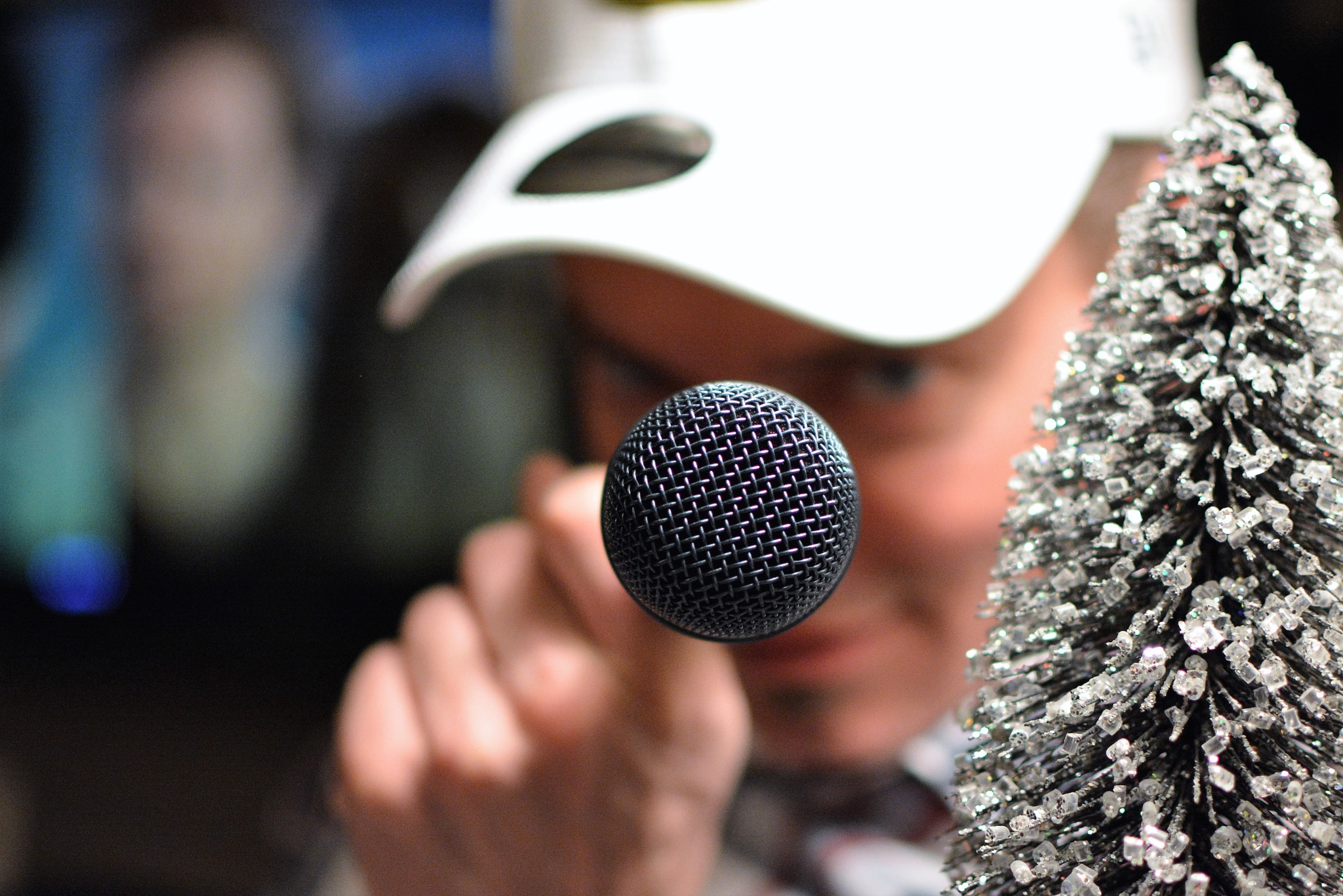 The Microphone by photofly/Holly