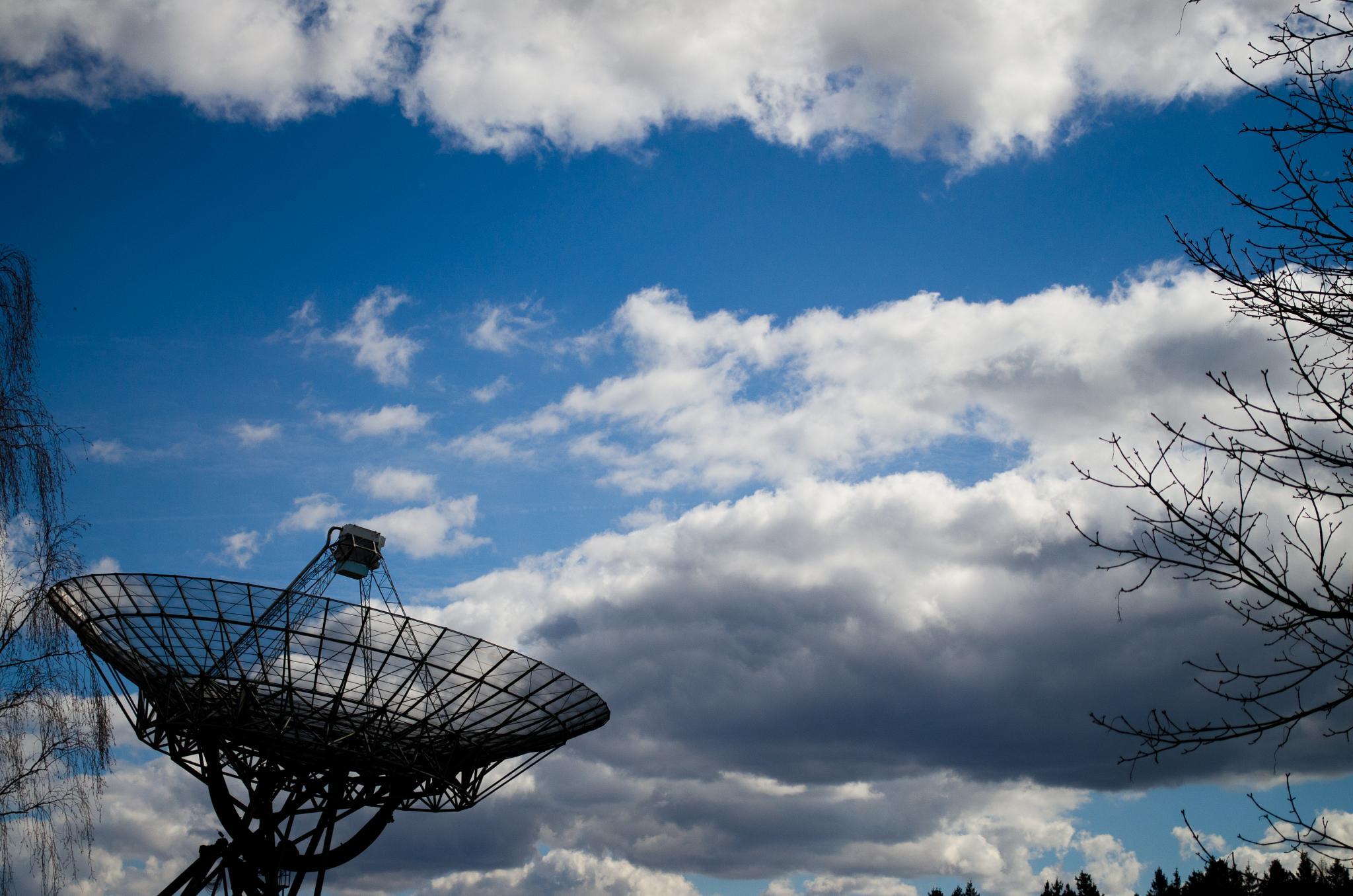 Westerbork Synthesis Radio Telescope (I) by Gerard de Haan
