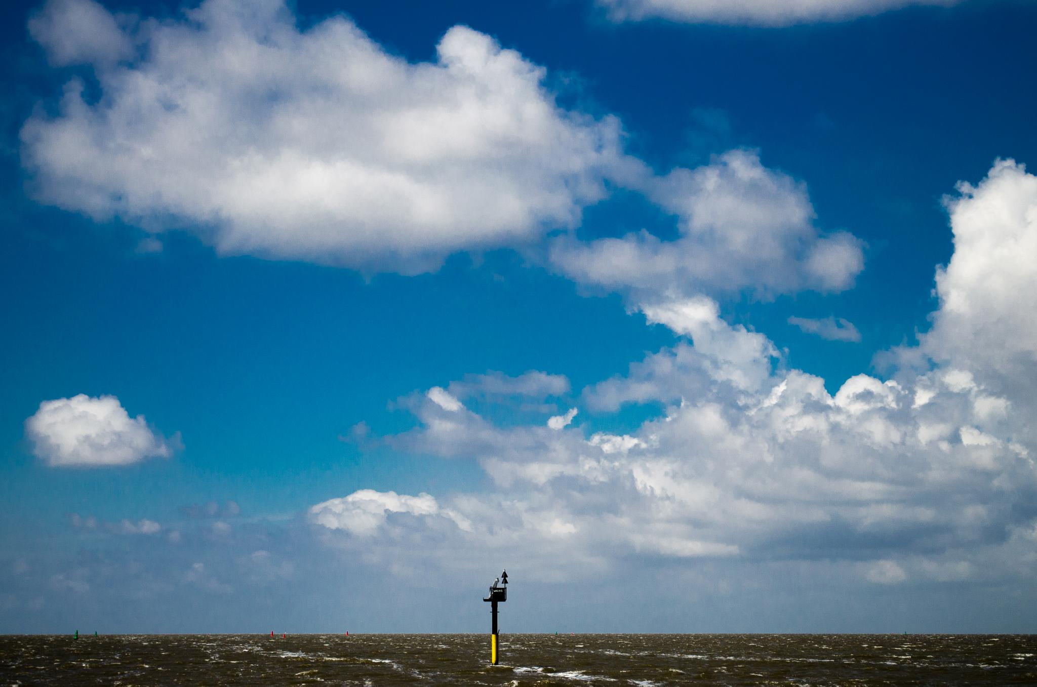 Waddenzee North bouy by Gerard de Haan