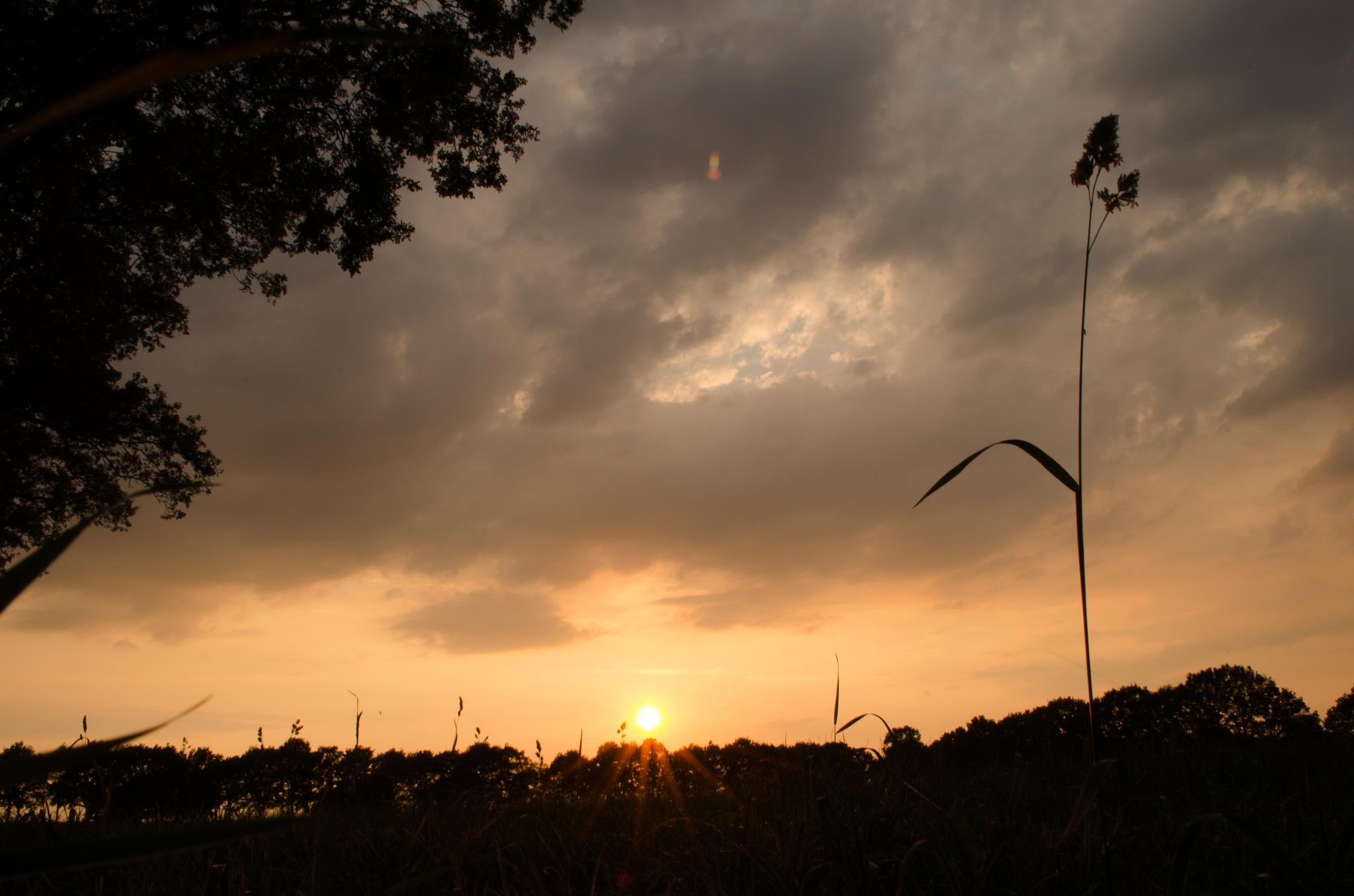 2018-07-31-5 - sunset by Gerard de Haan