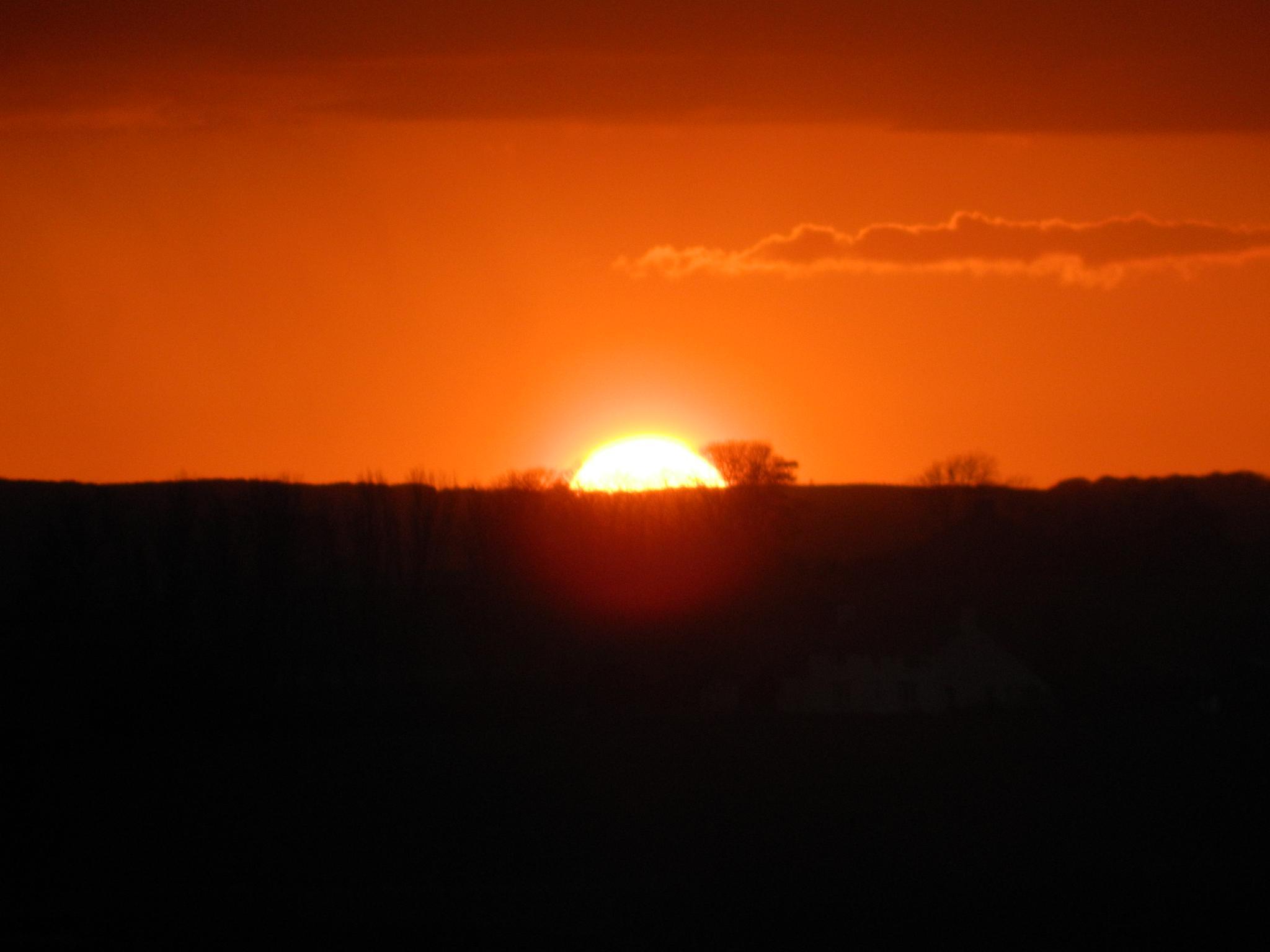 Sunset. by Scorpy