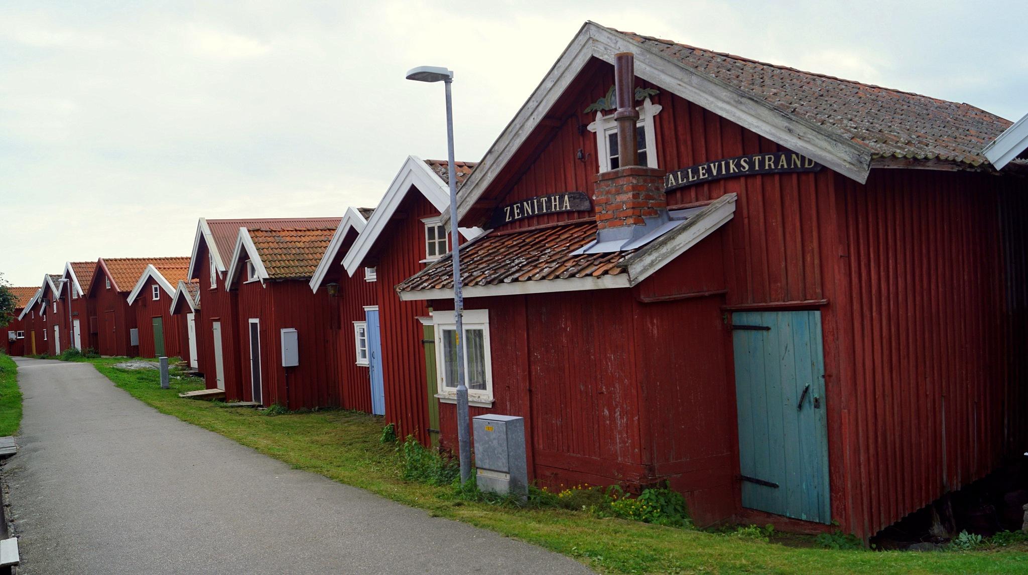 Fishingcottages by susannemkarlsson