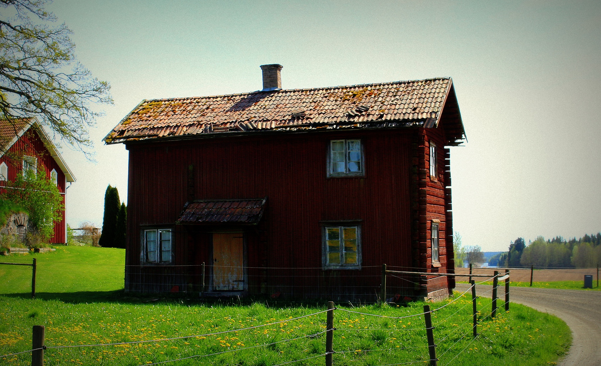 The old house with the old way by susannemkarlsson
