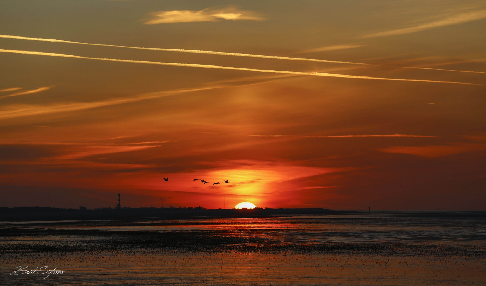 Sunset by Burt Sytsma