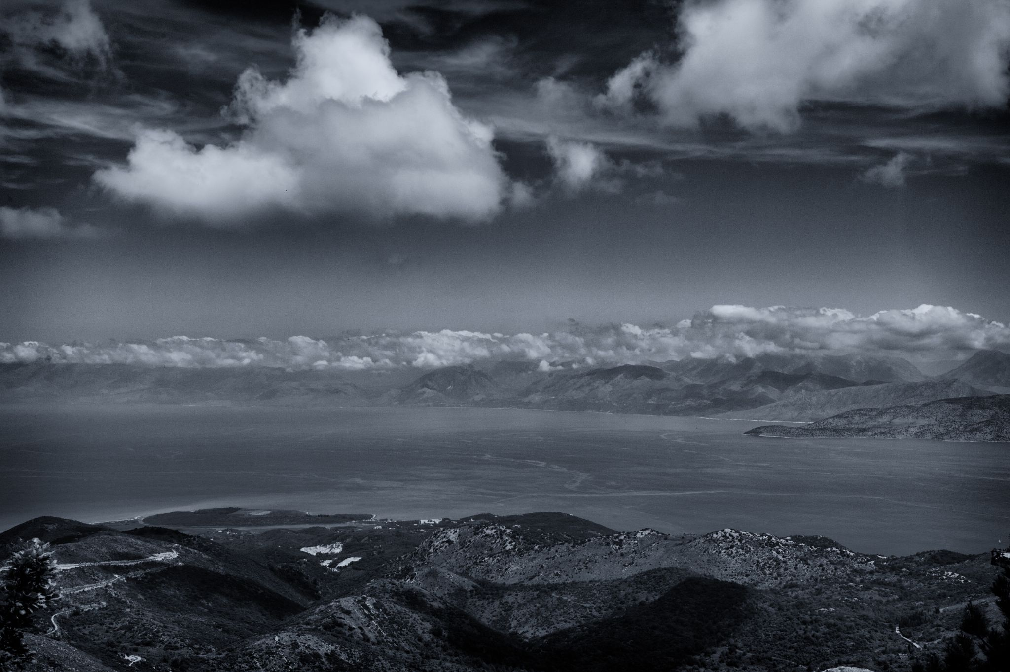I like horizonts, Korfu 2014 by Juergen Freymann