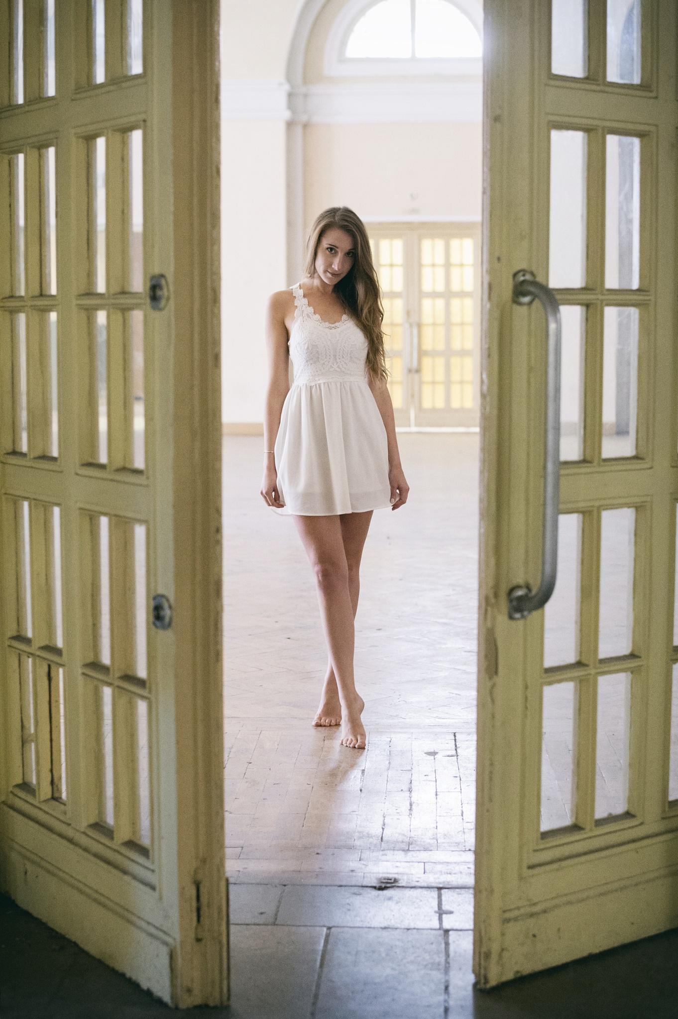 doors and girl by Juergen Freymann