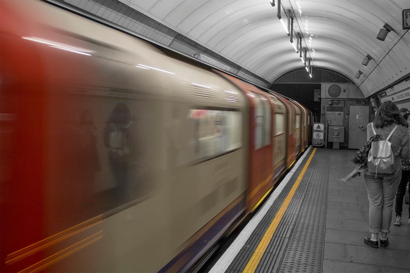 Underground Stop by philldutton