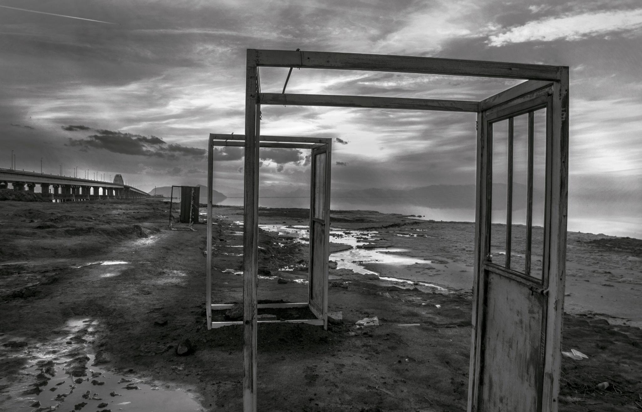 salt and bridge by Hiva Maroufi