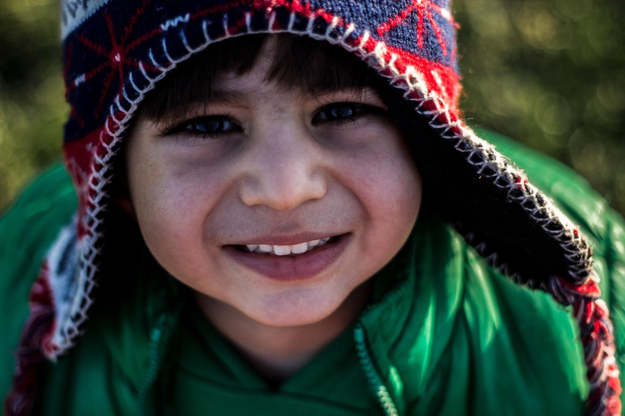 lovely smile  by Hiva Maroufi