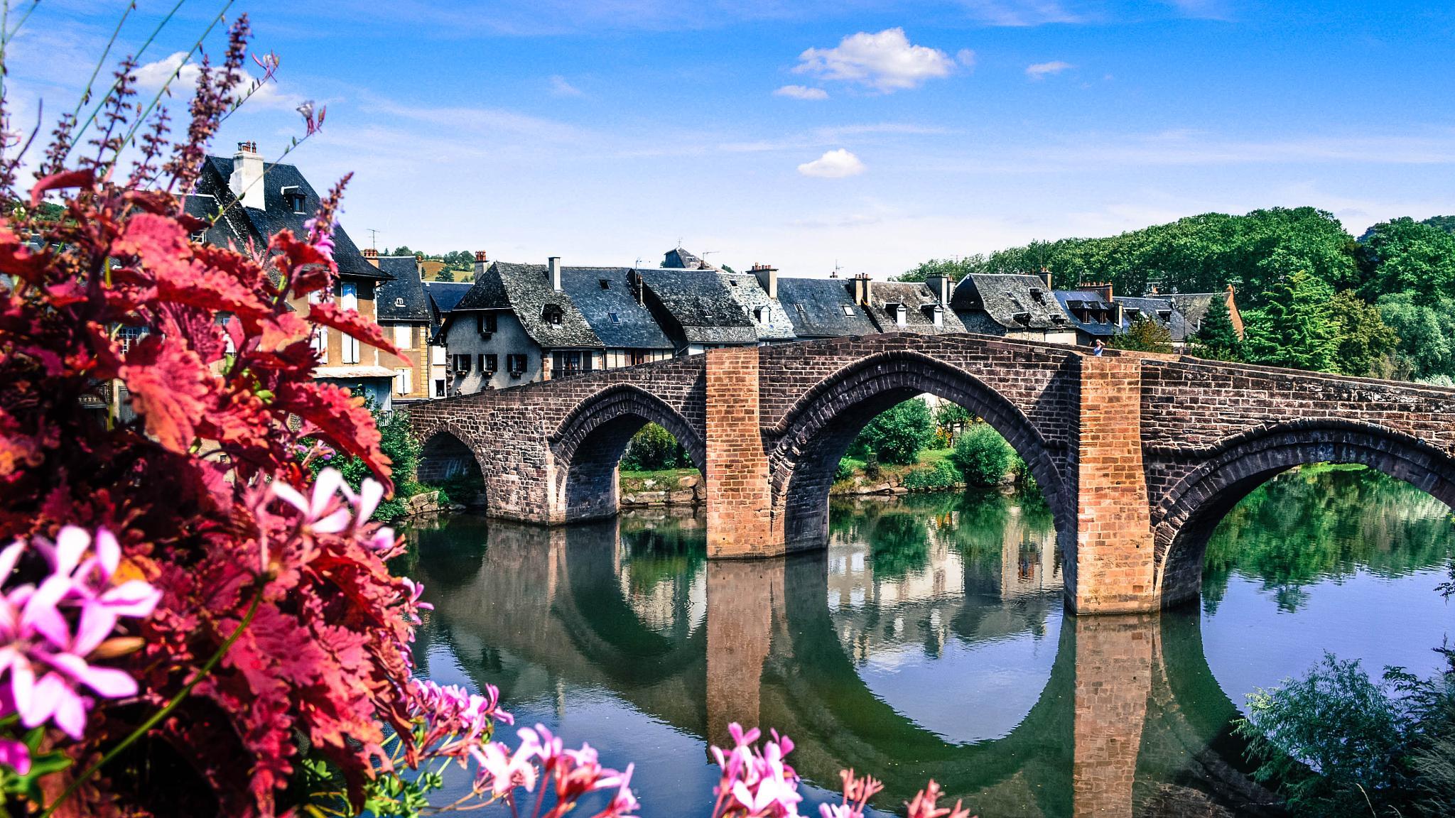 BRIDGE OF LAGUIOLE by AntoineHenquezPhotography