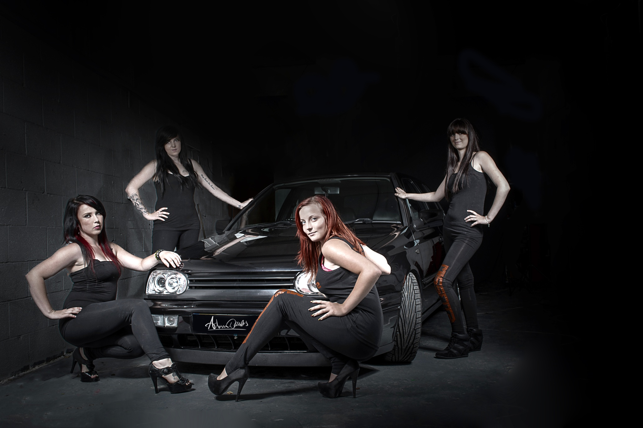 Promo Car shoot  by Adrian Dawes Photography