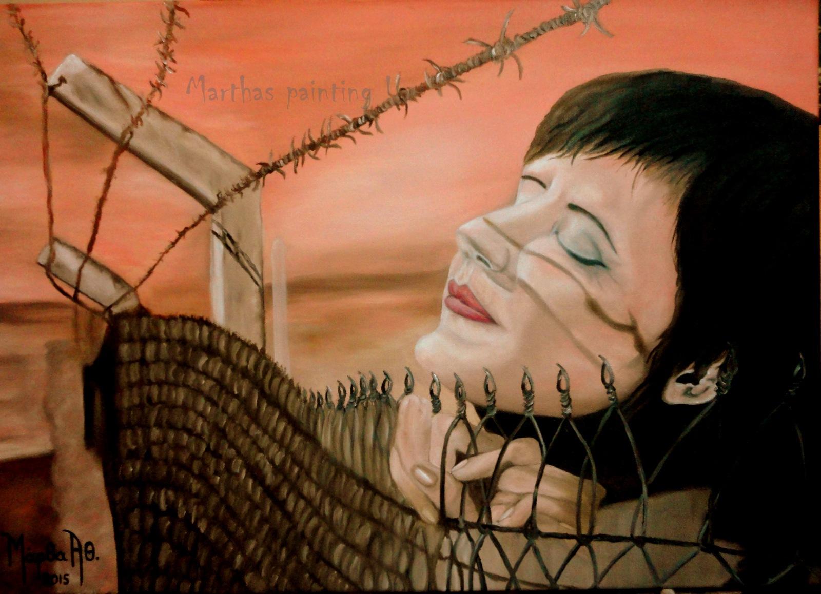 Leyla Kiralp by MarthaAthinodorou