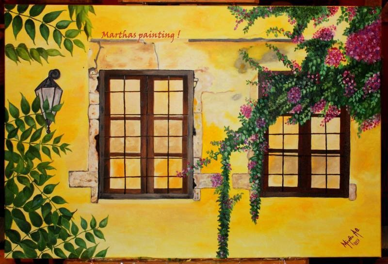 The old windows!! by MarthaAthinodorou