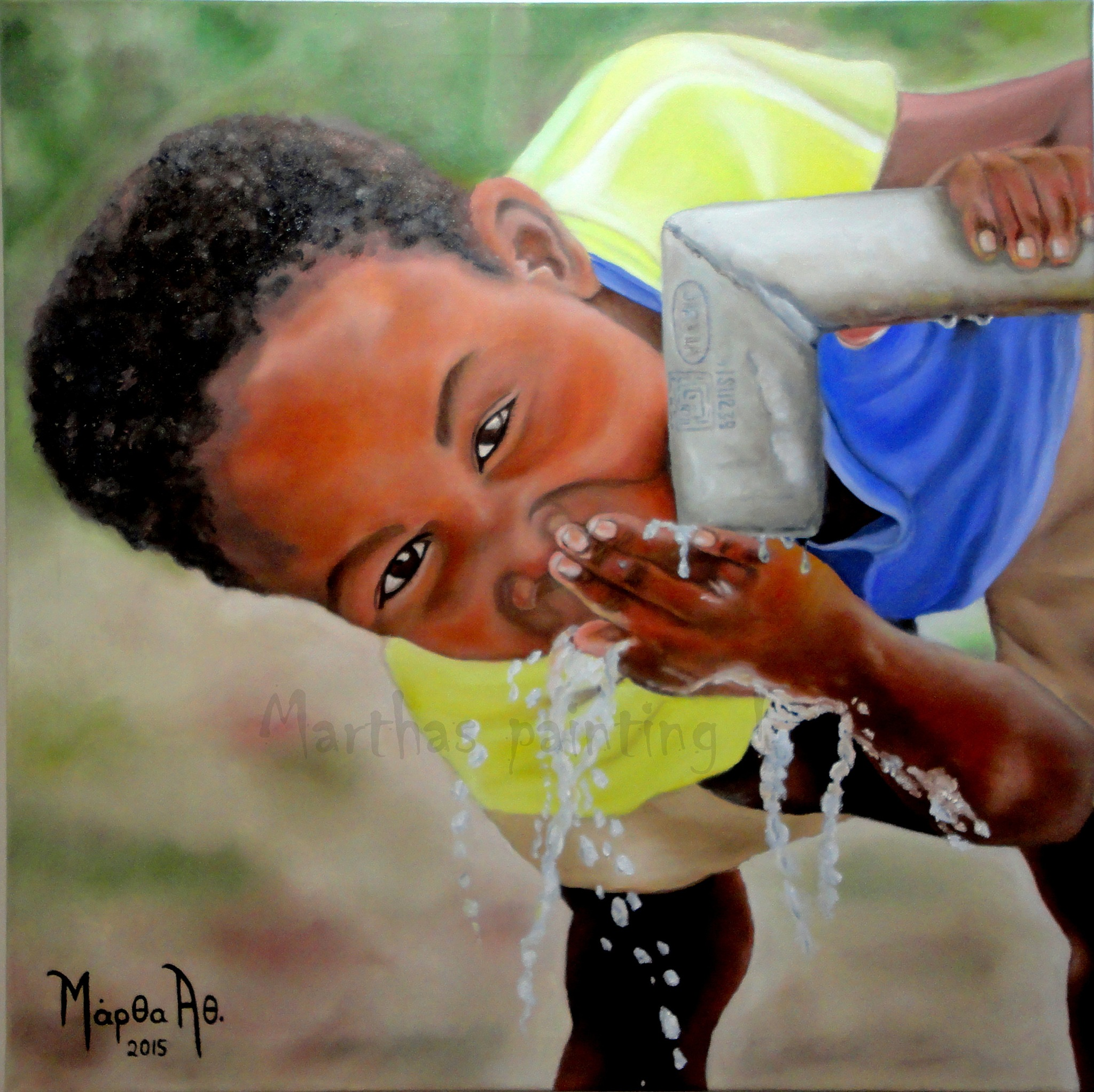 Boy and the water no2 by MarthaAthinodorou
