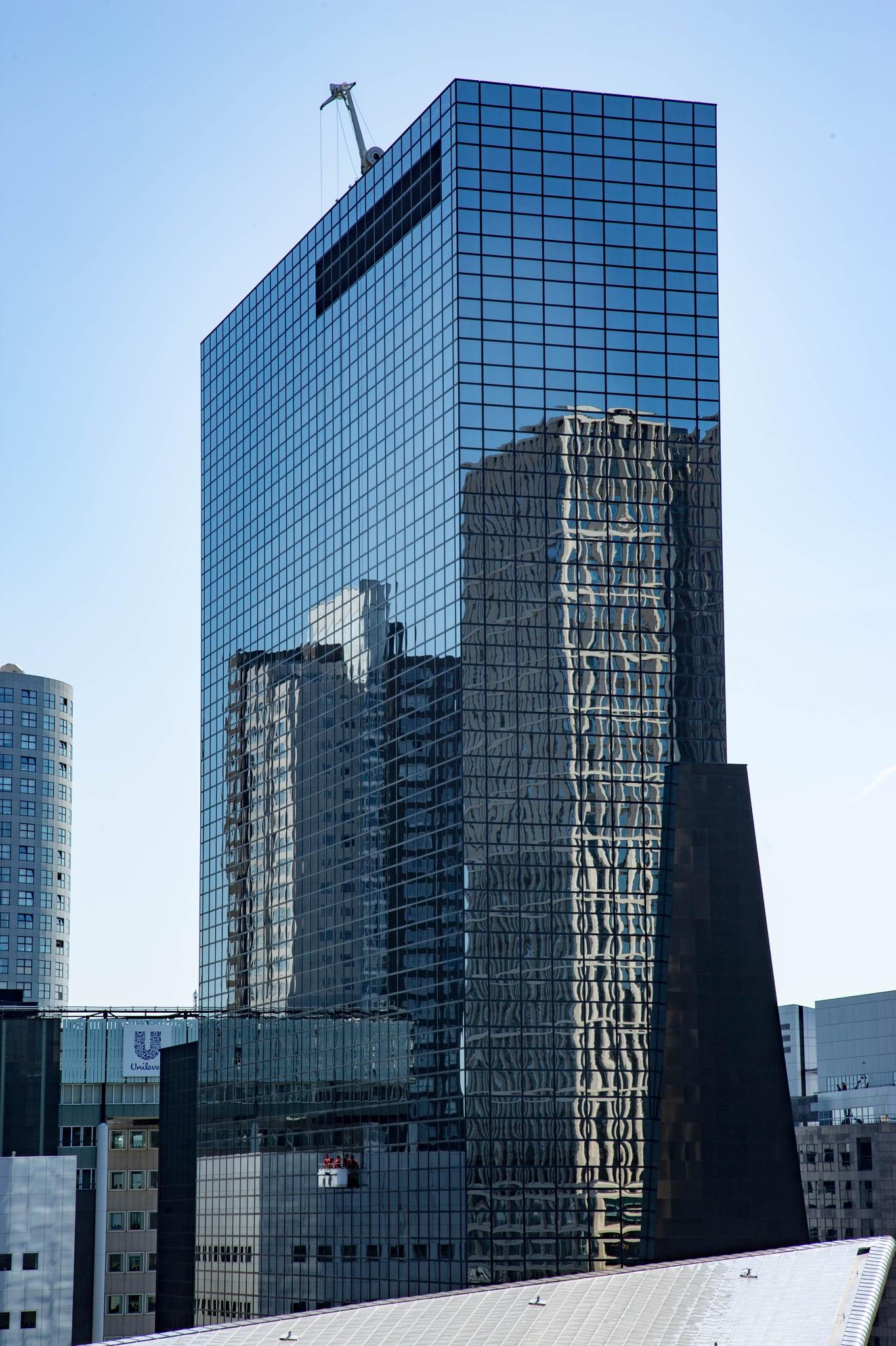 New York in Rotterdam by Jan Dirk Stuurwold