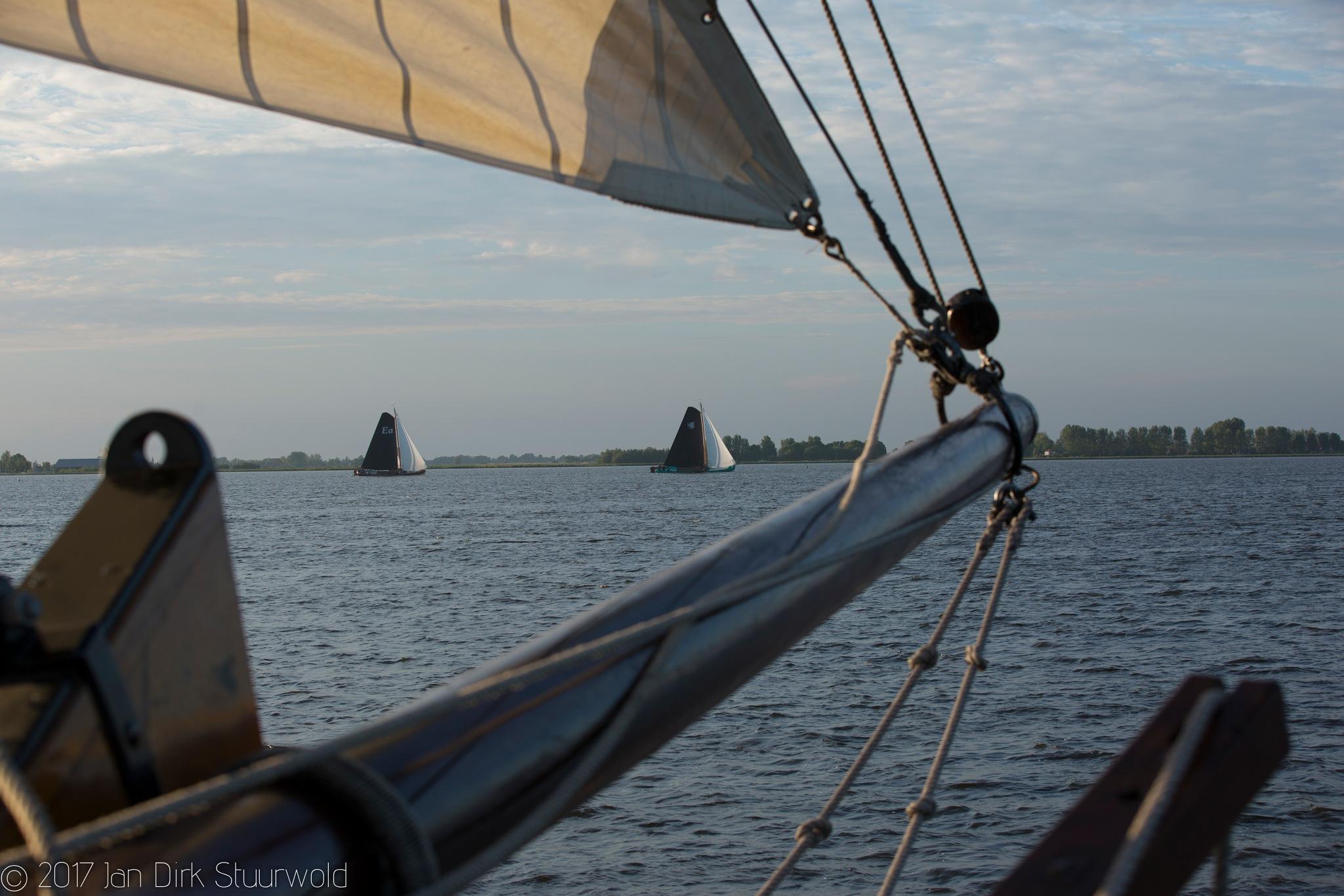 sailing by Jan Dirk Stuurwold