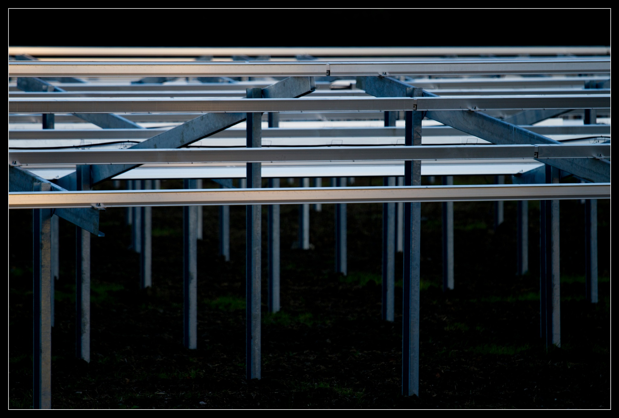 solar power construction site by johan.warta