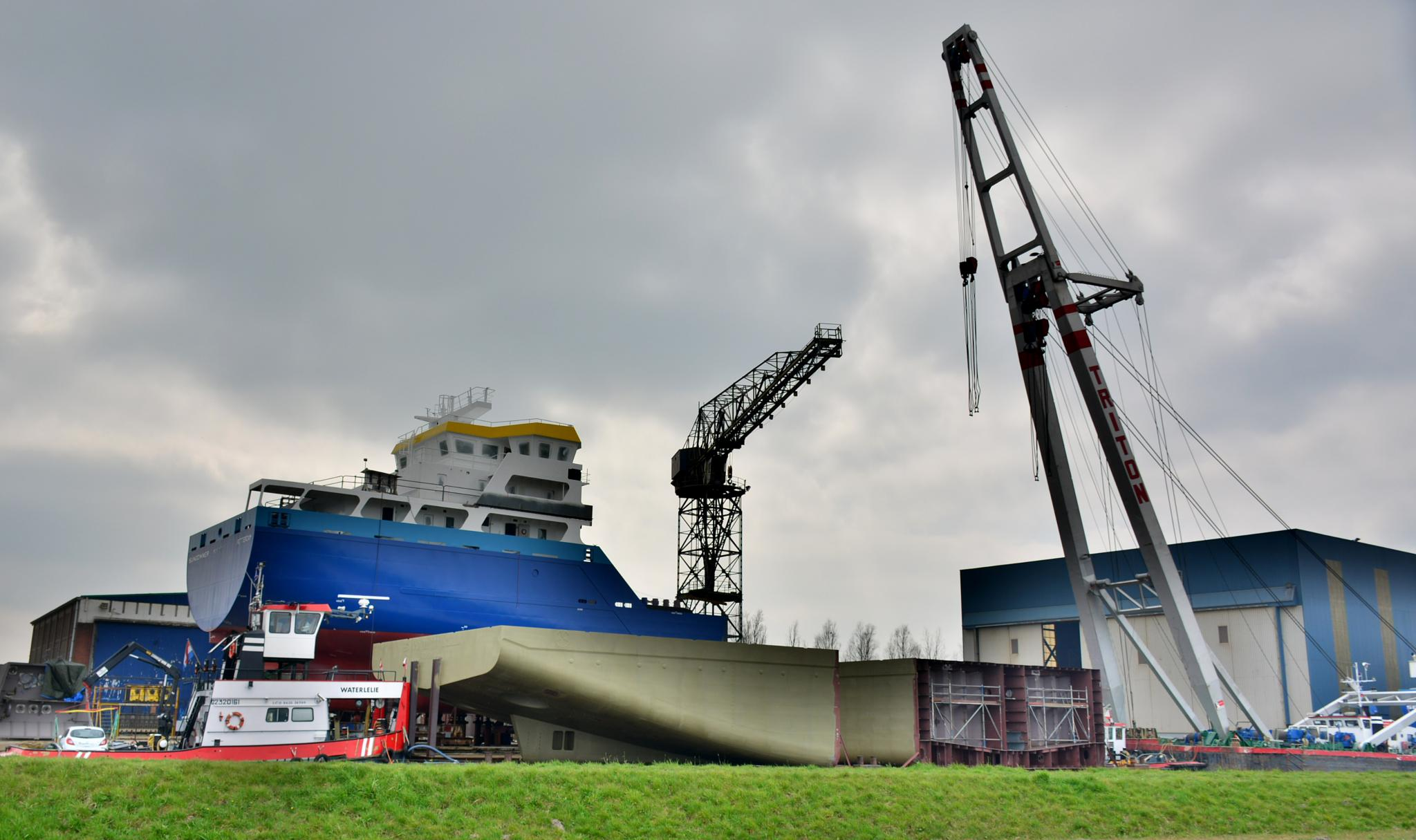 shipyard by allard.vanderweide