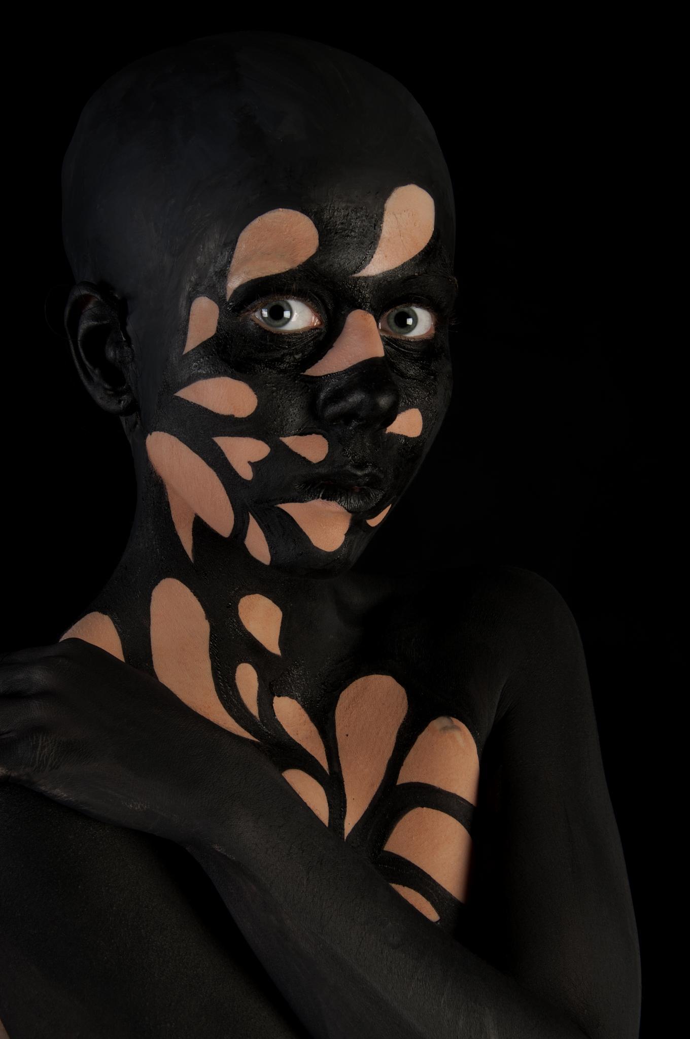 Body Paint Black by Paul