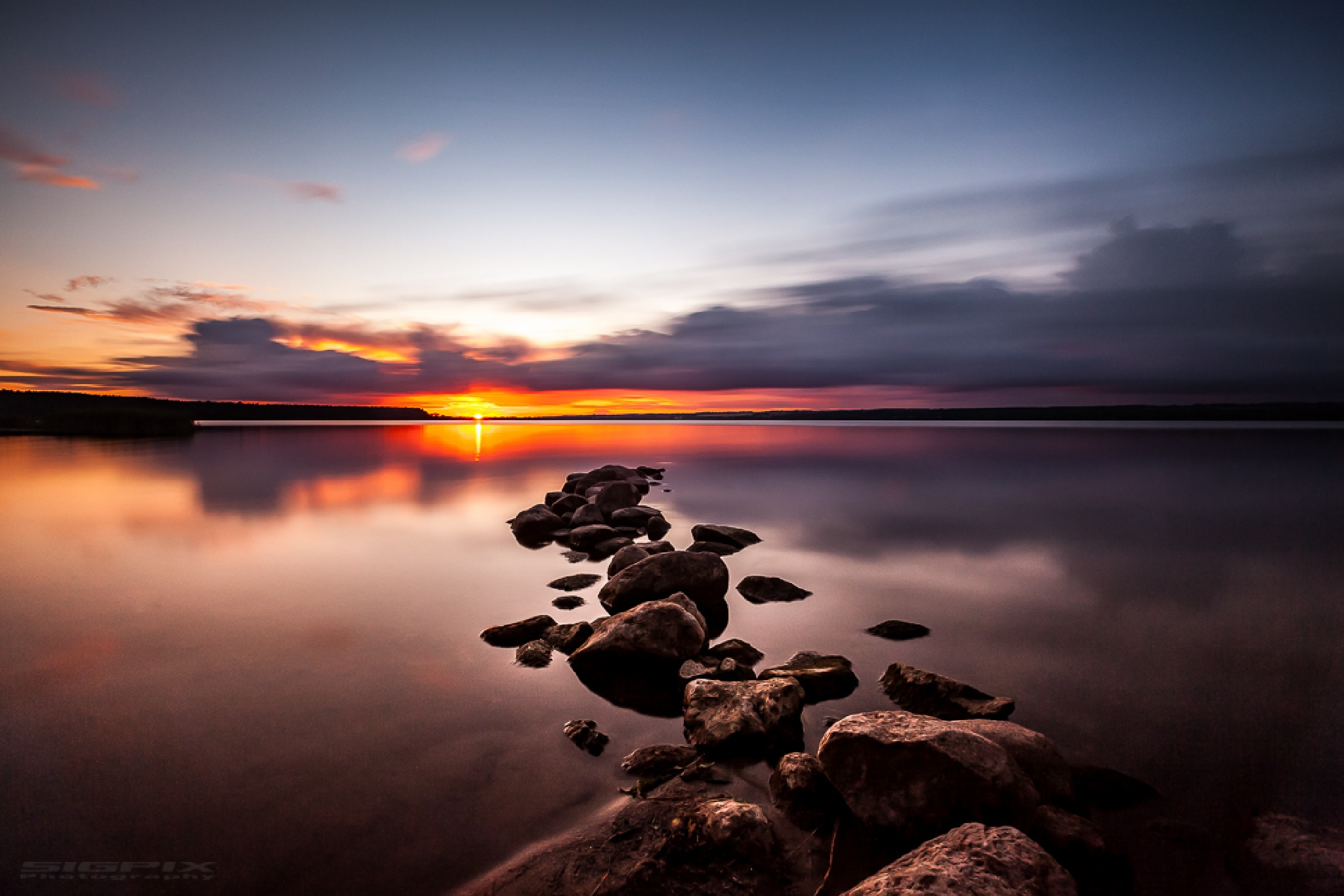 Sunset Delight. by Bengt Sigeholt Photography