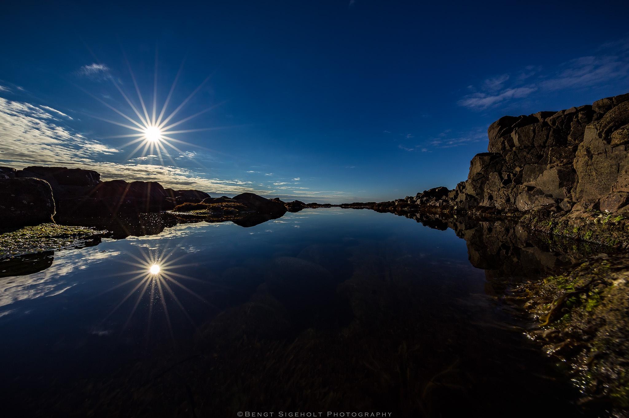 Blue Reflection. by Bengt Sigeholt Photography