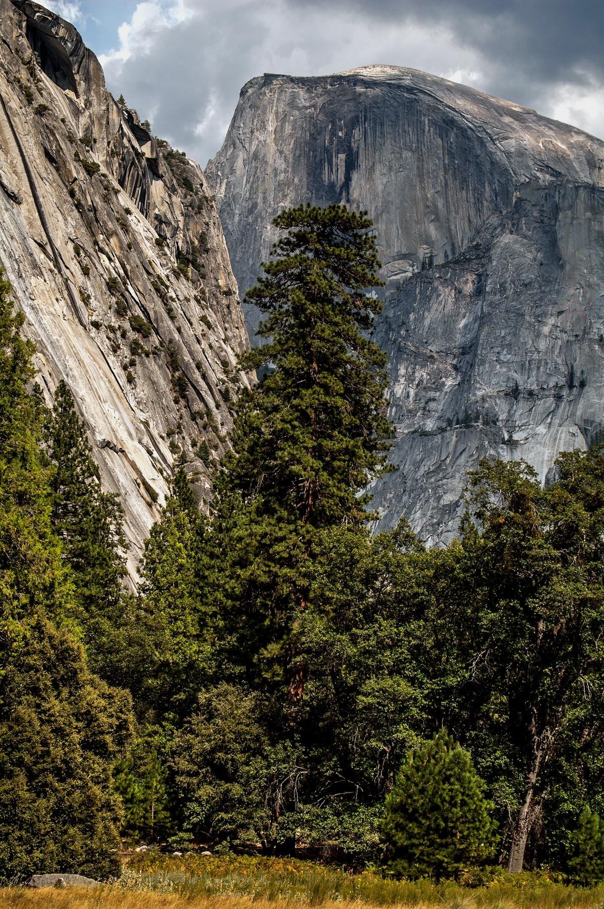 The Half Dome - Yosemite Valley Perspective by revpaulvet
