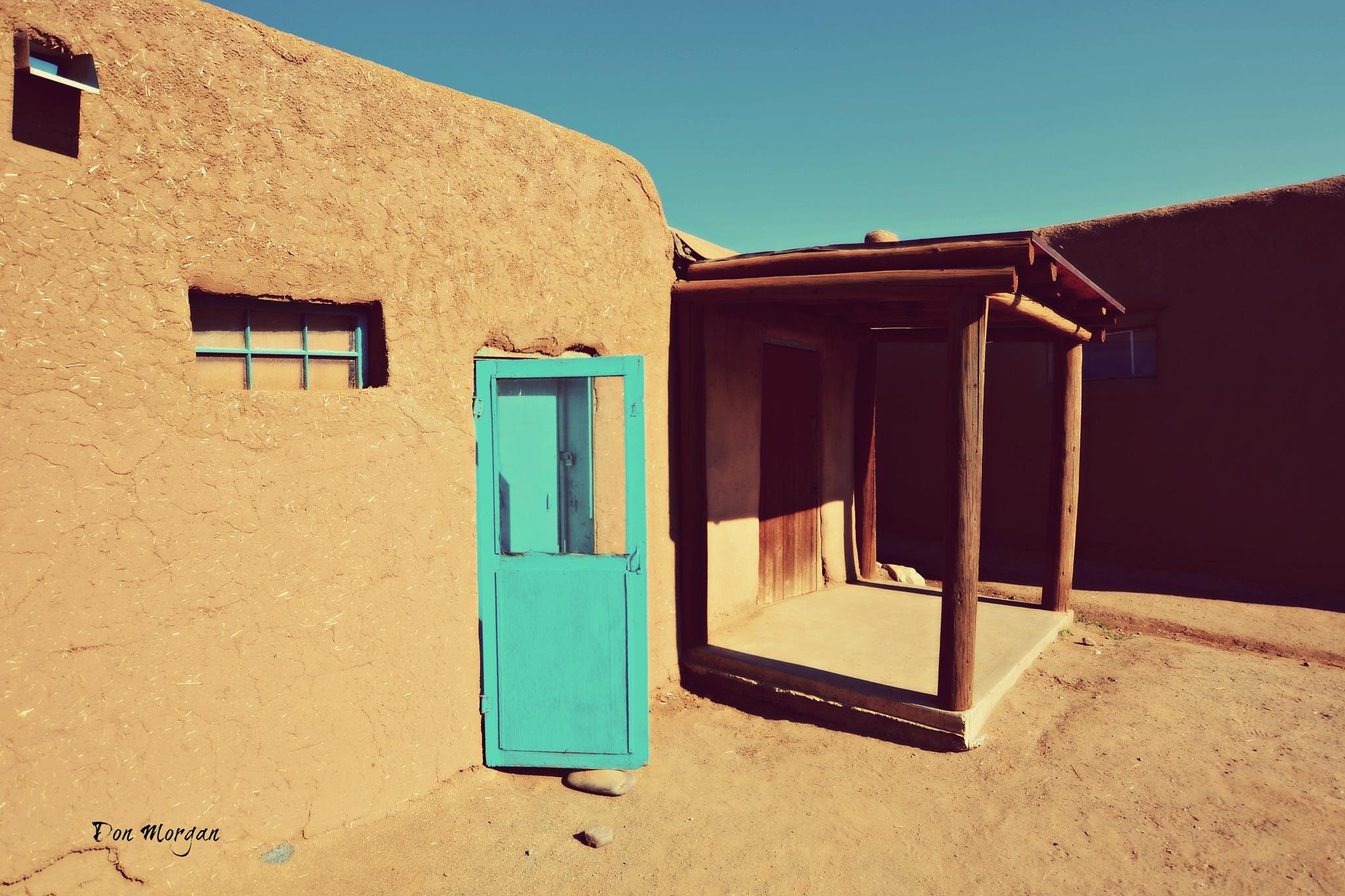 Taos Pueblo, New Mexico, USA by donmorgan66