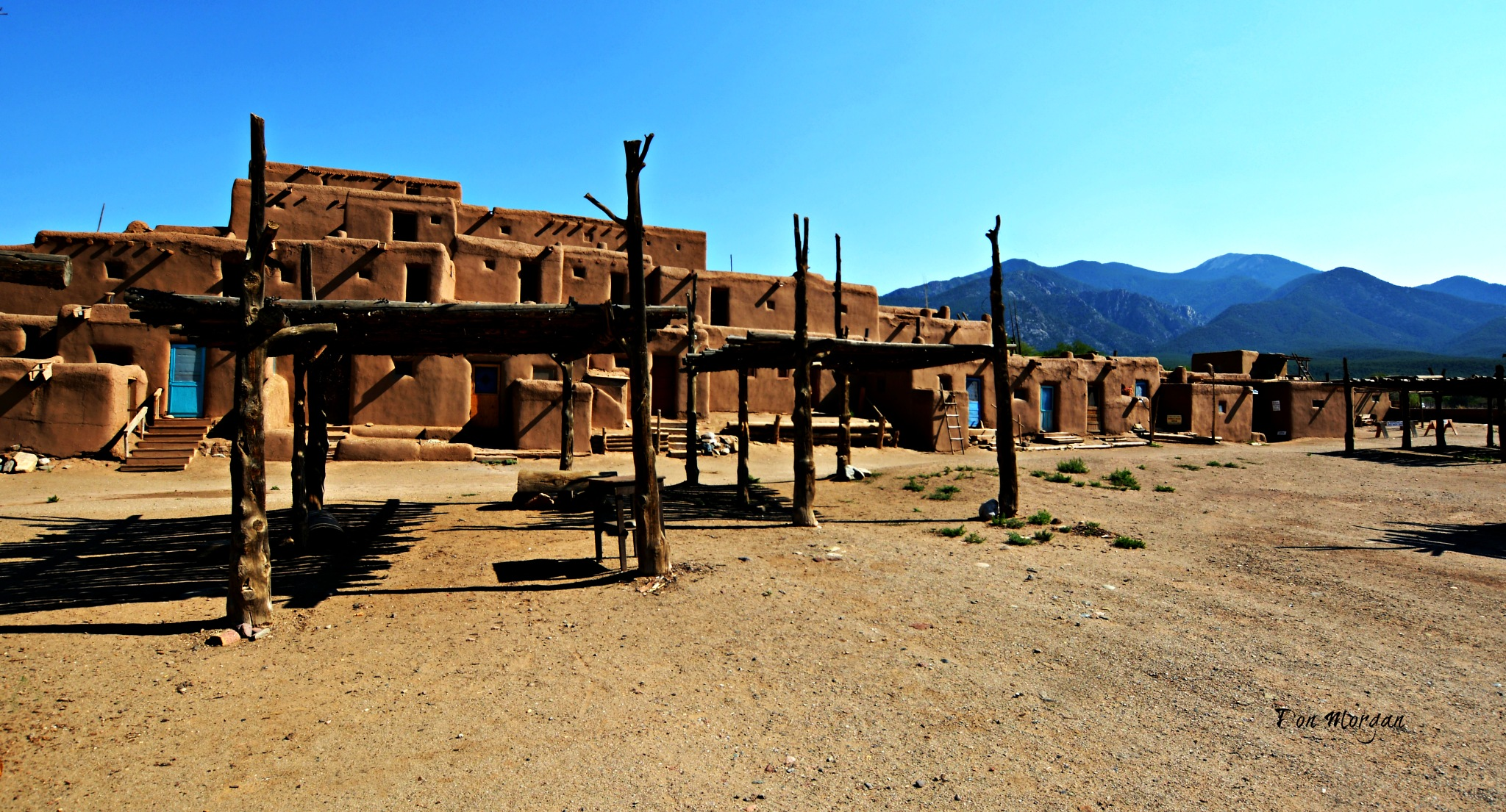Taos Pueblo, New Mexico, USA by donmorgan66