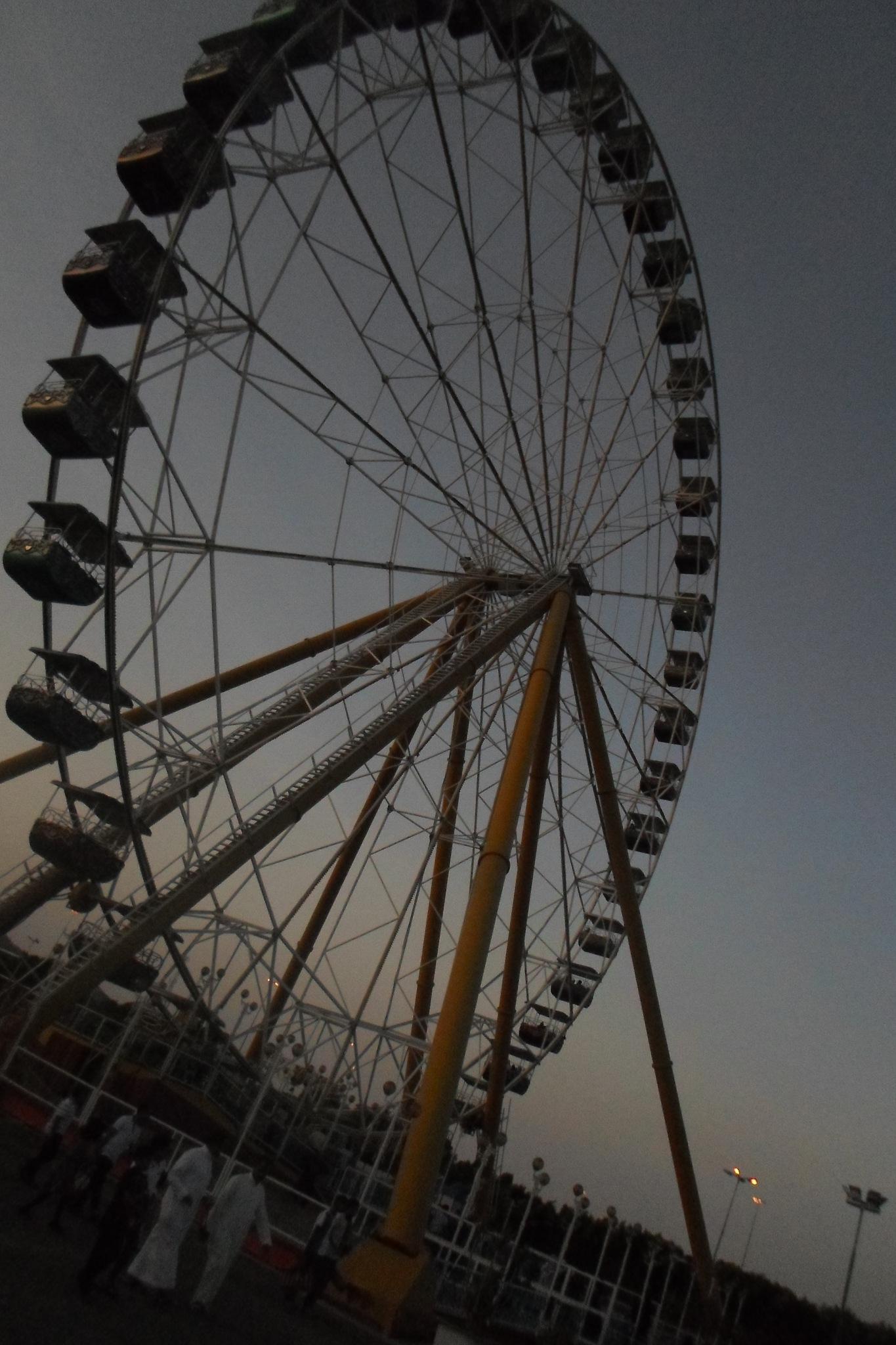 big wheel  by ahmed kallol