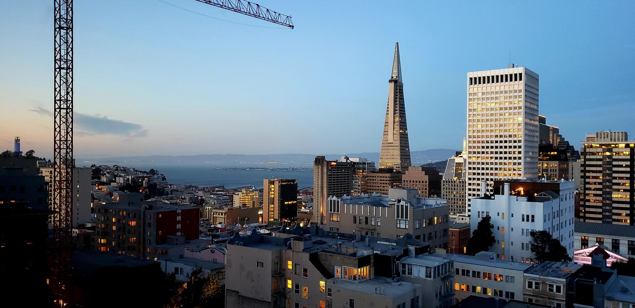 San Francisco at Dusk... by teresa.thiele1