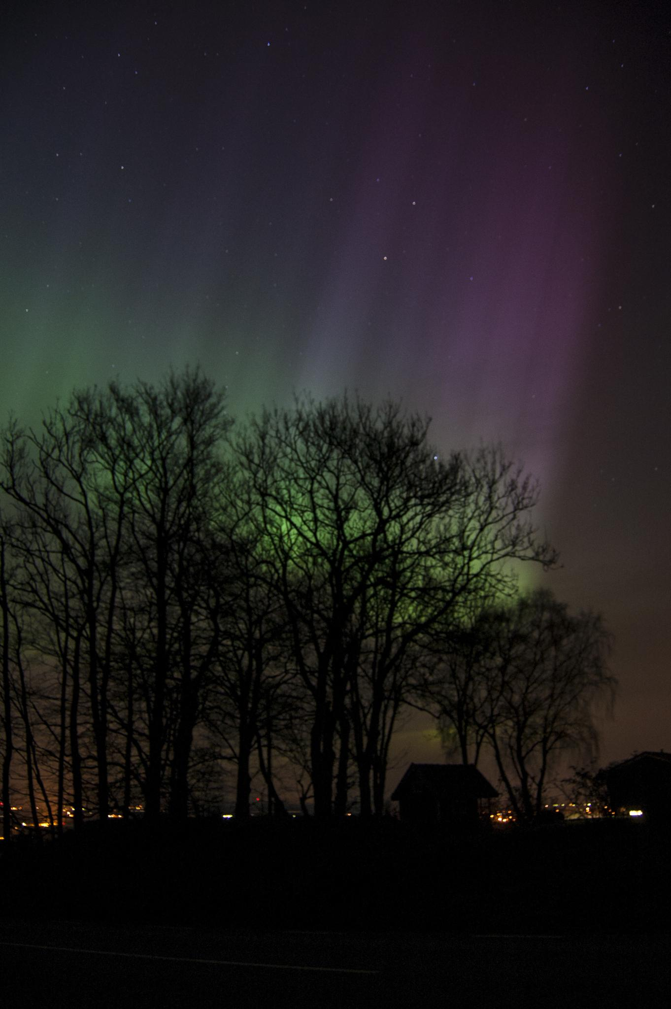 Northern Lights by photographer Anna Nilsson