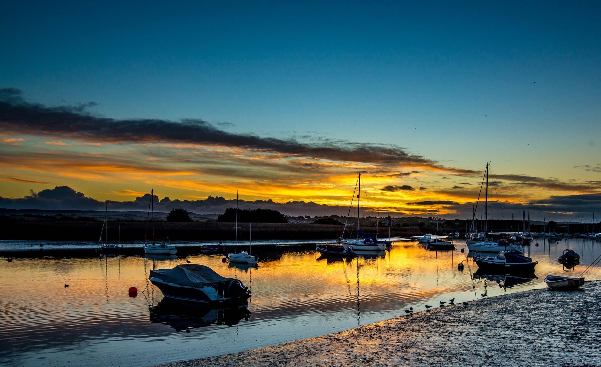 Topsham quay sunset by Hammond Photography